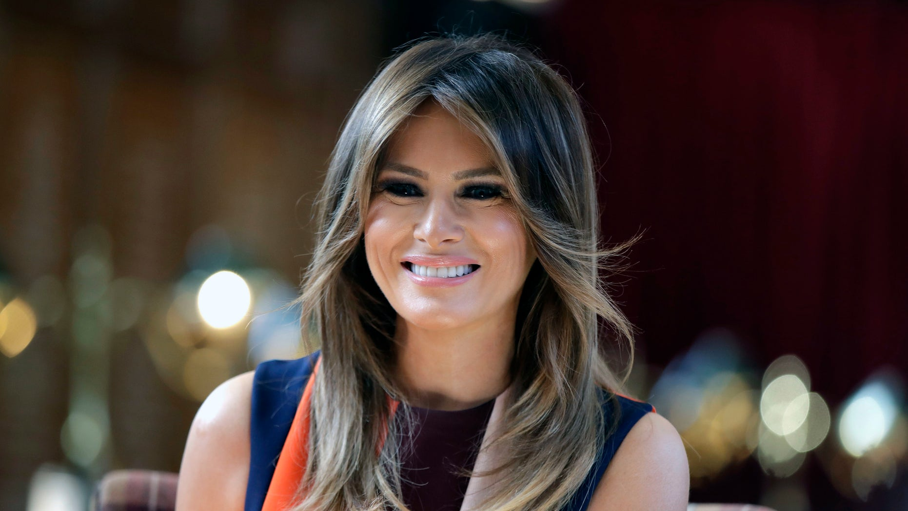 Melania Trump Visits Newborn Victims of Opioid Crisis Following Plane Malfunction