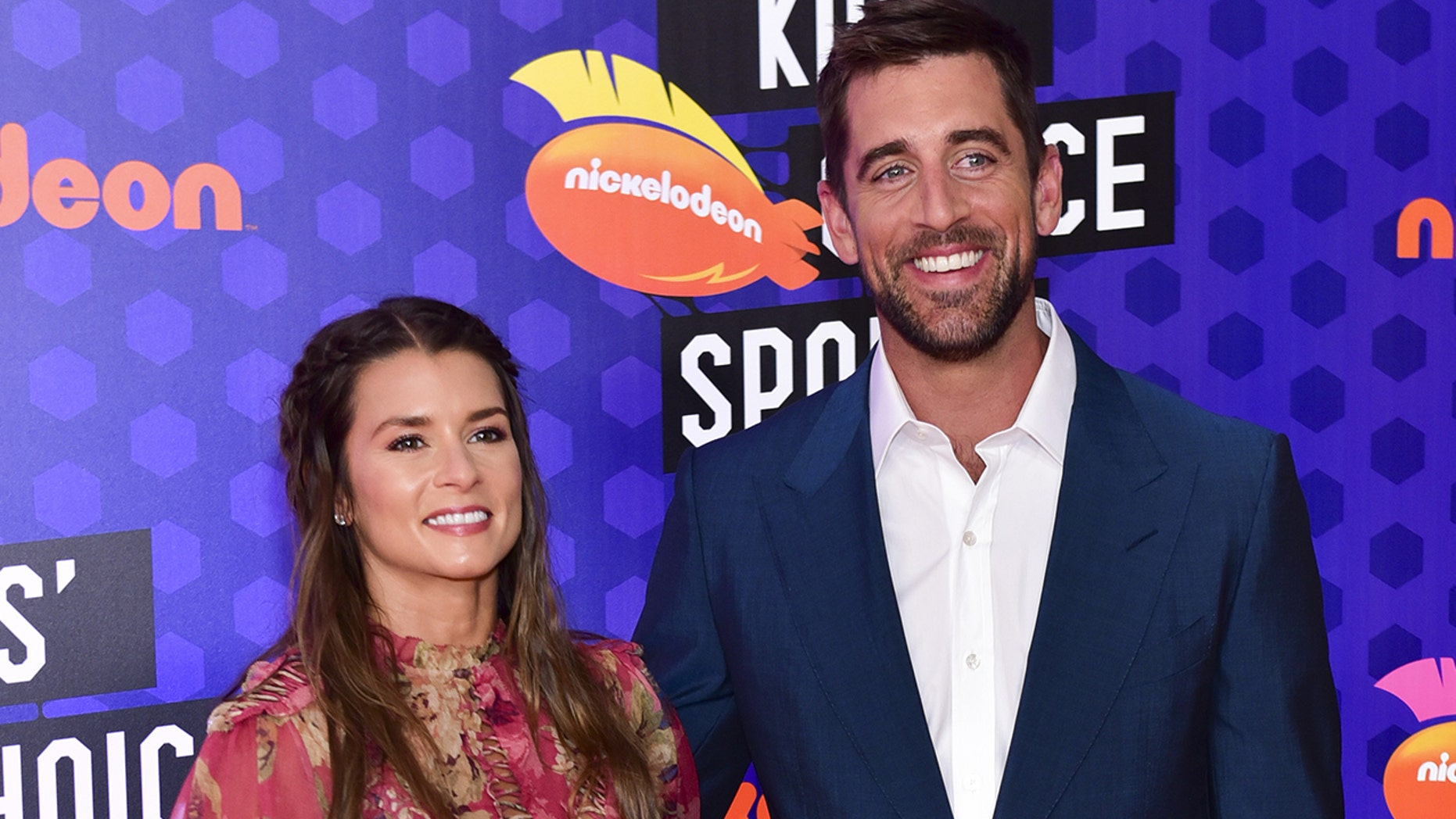 Aaron Rodgers recently gushed over his girlfriend Danica Patrick.
