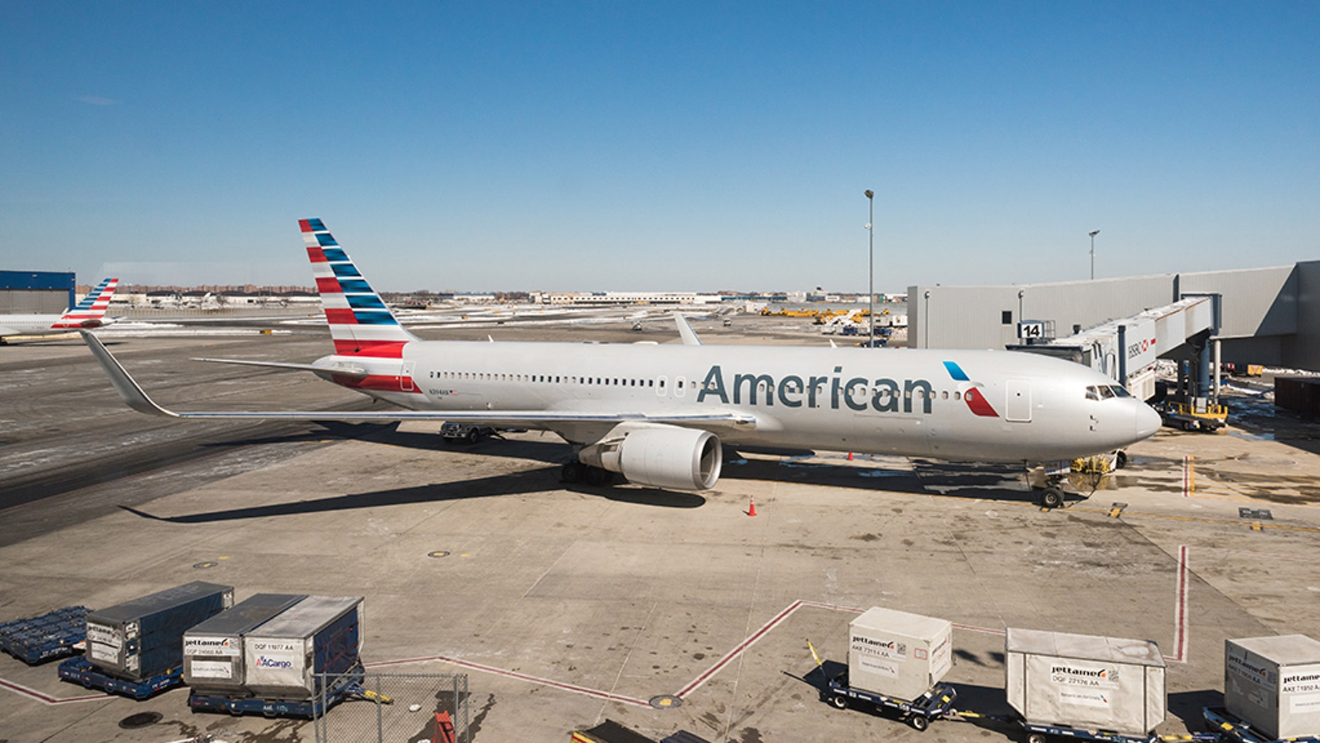 American Airlines suggested Wednesday that a container handler fell defunct in a plane's load reason and unintentionally flew from Kansas City to Chicago.br data-cke-eol=1
