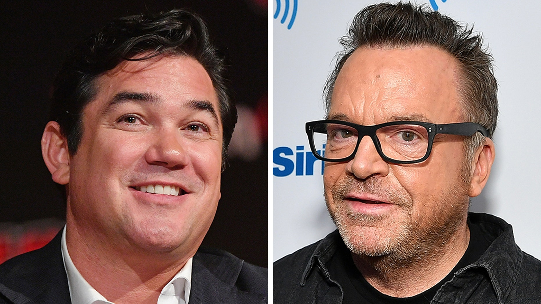 Dean Cain and Tom Arnold got into a fight about politics and President Trump - and it was recorded on video.