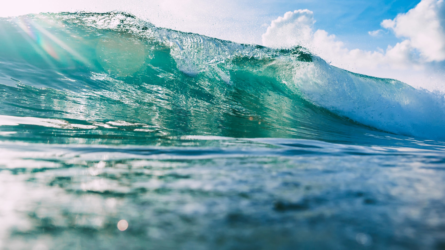The study found that waves have increased in strength by 0.41 percent per year since 1948