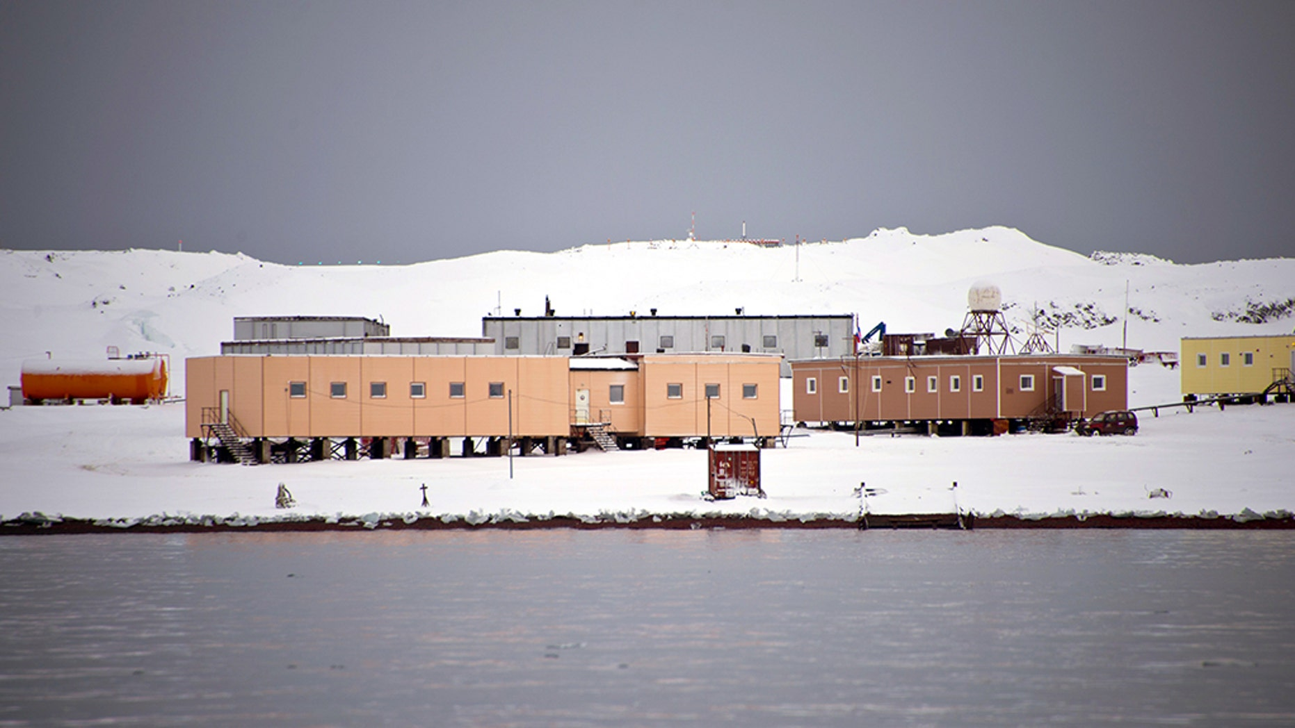 A researcher at the Russian Bellingshausen Station in Antarctica's King George Island allegedly stabbed a colleague after an apparent emotionalbreakdown. (VANDERLEI ALMEIDA/AFP/Getty Images)