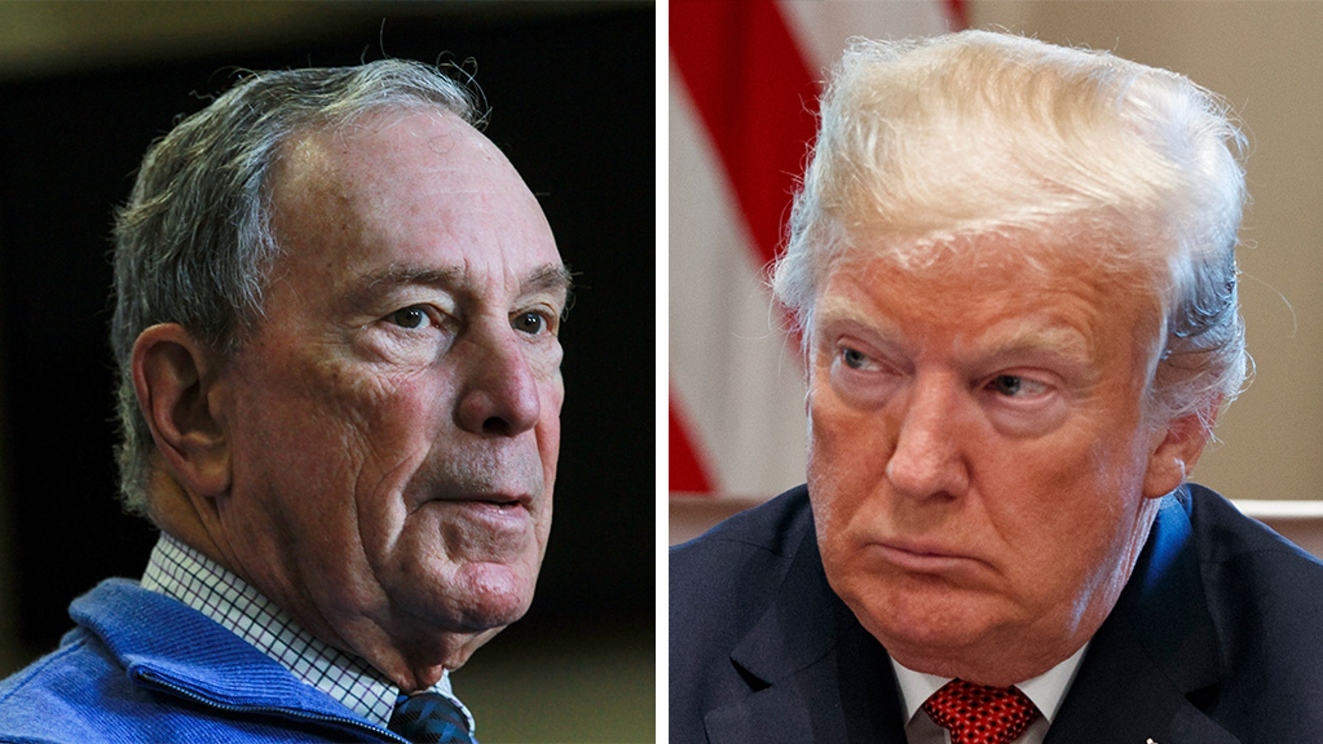 "Former New York City Mayor Michael Bloomberg addressed President Donald Trump's remark that he'd be an ""easy"" opponent in the 2020 presidential election."