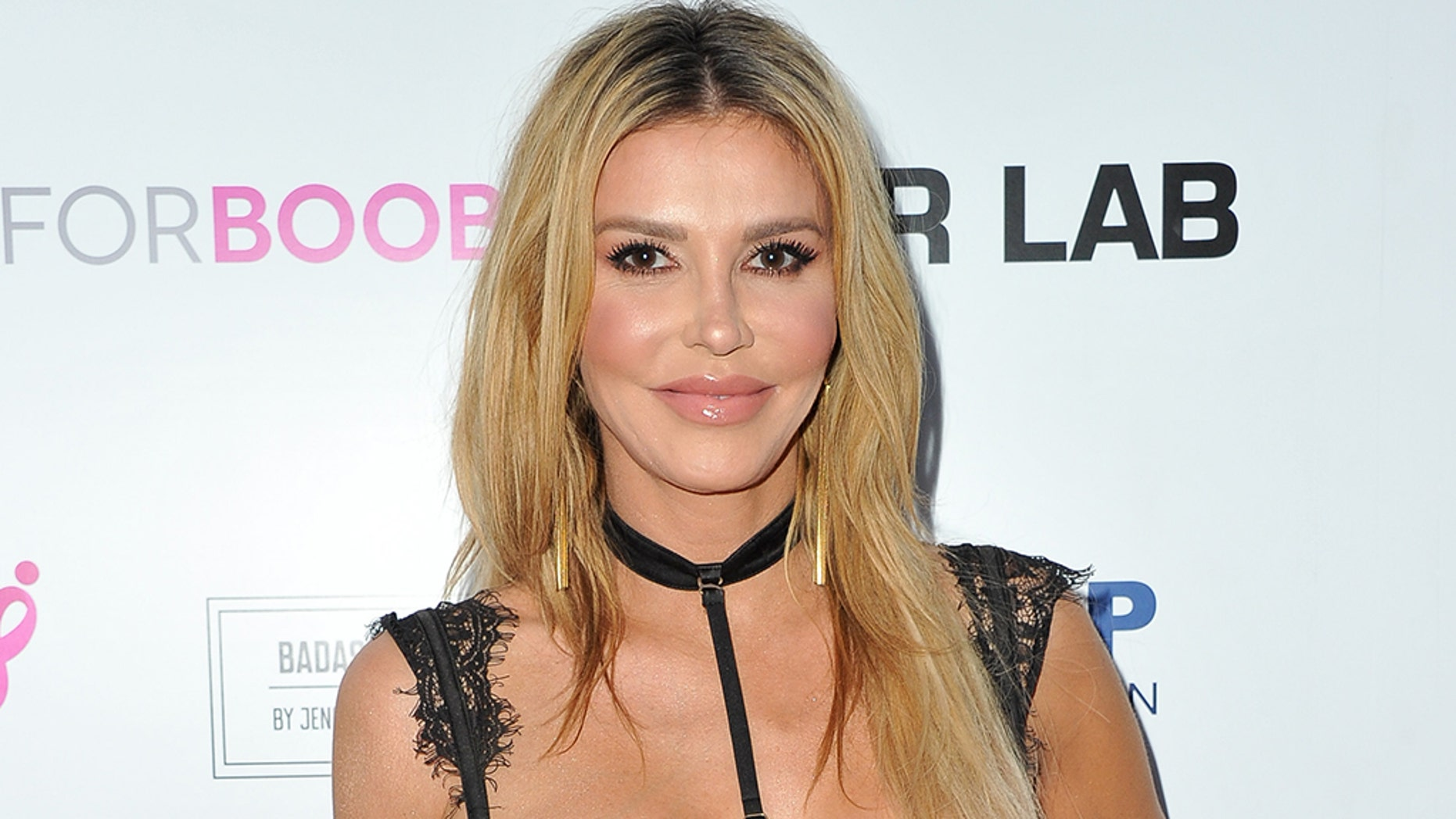 Brandi Glanville has been accused of assaulting an actor while attending the Casamigos Halloween Party in Beverly Hills on Friday.