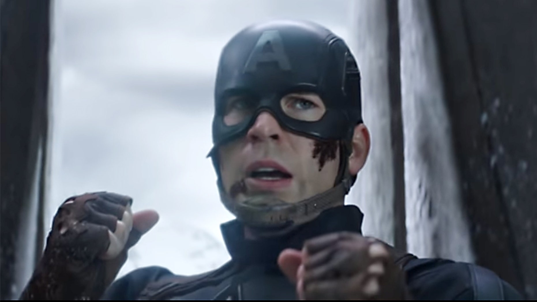"Chris Evans first starred as Captain America in the 2011 film ""Captain America: The First Avenger."""