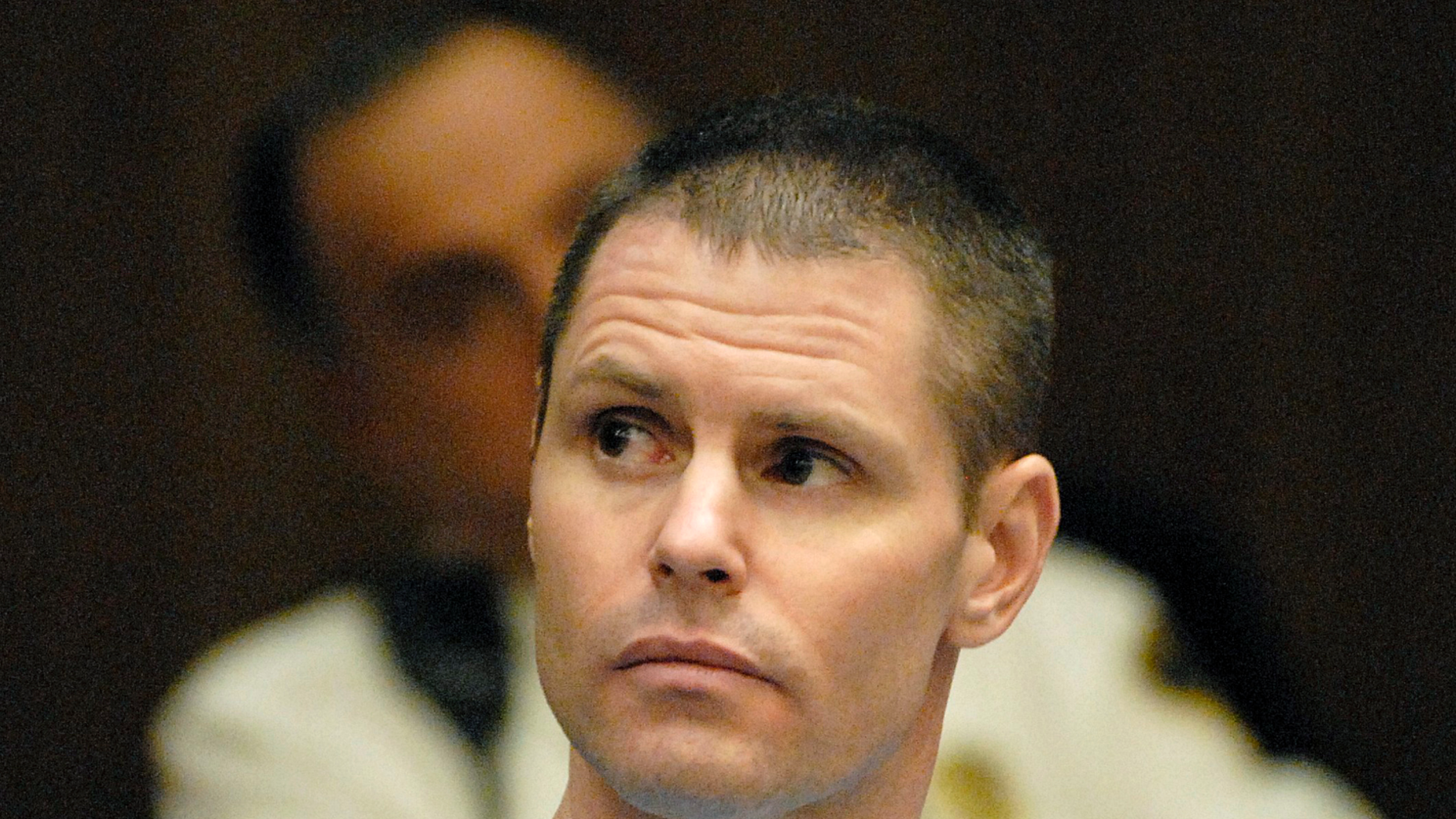"In this April 14, 2009 photo, Fotios ""Freddy"" Geas appears for a court proceeding in his defense in the Al Bruno murder case, in Springfield, Mass. Geas and at least one other inmate are being investigated as suspects in the slaying of former Boston crime boss James ""Whitey"" Bulger, who was killed behind bars on Tuesday, Oct. 30, 2018, less than 24 hours after being transferred to a federal prison in West Virginia, according to a former investigator briefed on the matter. (Don Treeger /The Republican via AP)"
