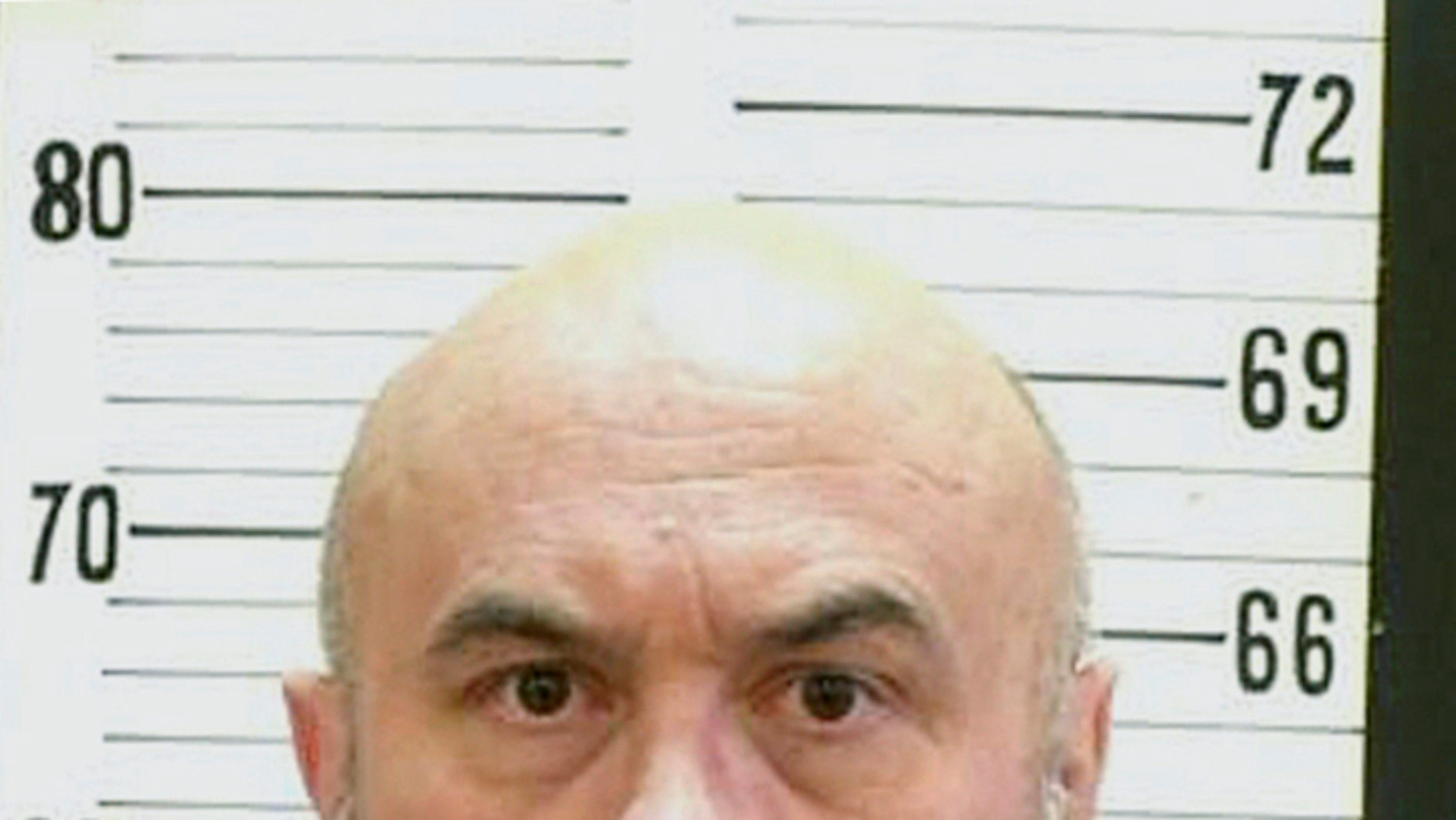 This undated photo released by the Tennessee Department of Corrections, shows death row inmate Edmund Zagorski in Tennessee. (Tennessee Department of Corrections via AP)