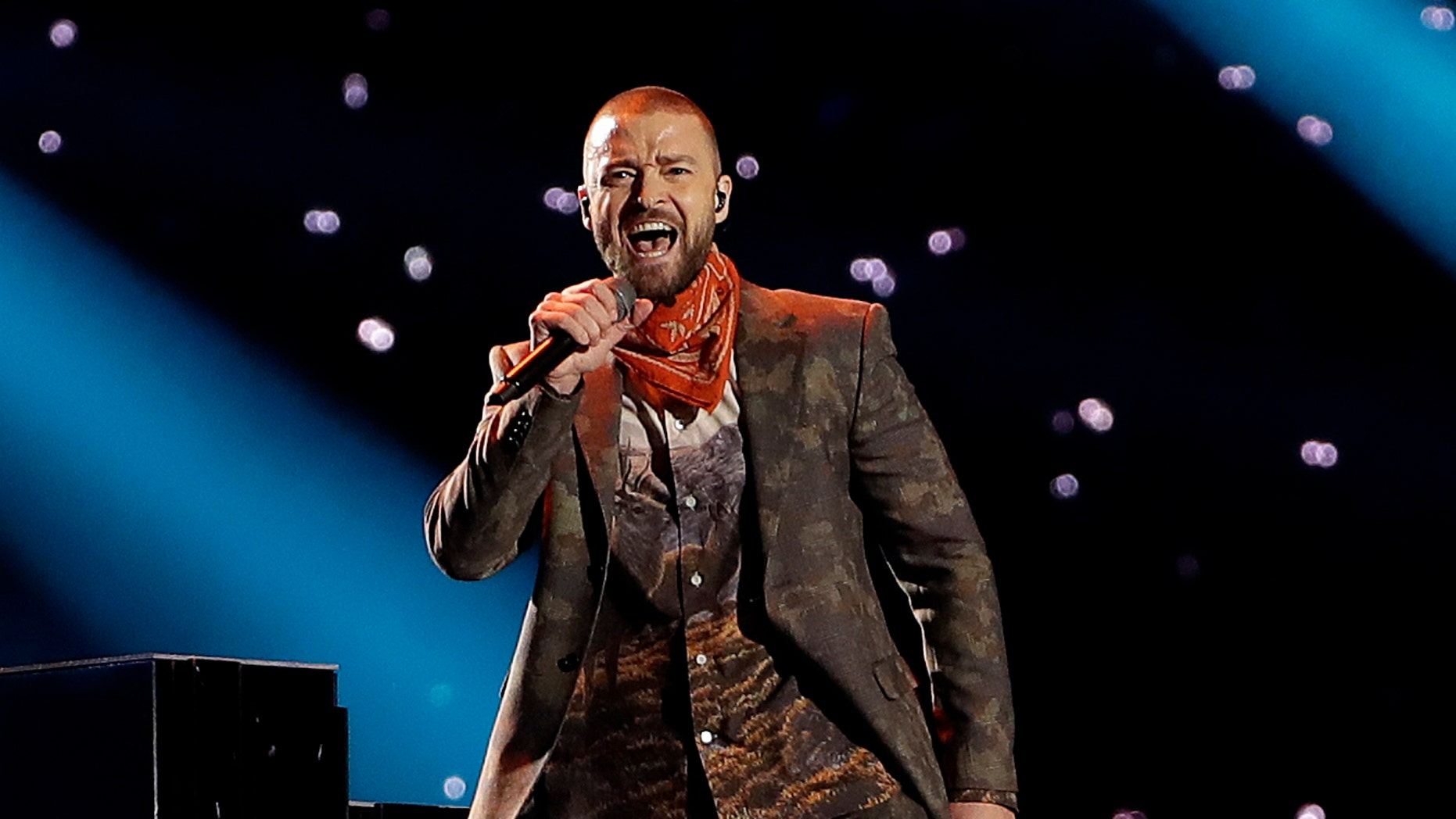 """Justin Timberlake says he is postponing his Wednesday night concert in New York City because his vocal chords are """"severely bruised."""""""