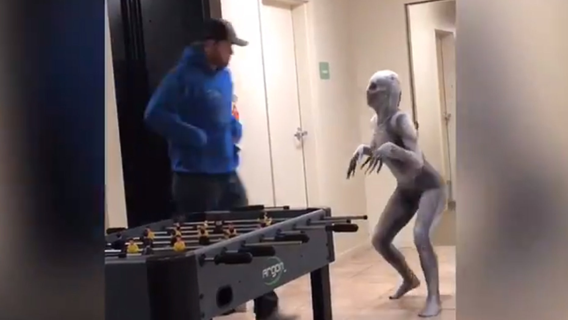 nebraska college student's scary halloween costume prank goes viral