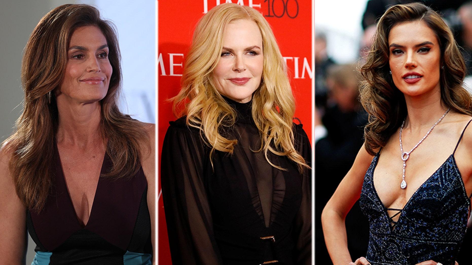 Cindy Crawford, Nicole Kidman, and Alessandra Ambrosio are on a trip to China as Omega brand ambassadors.