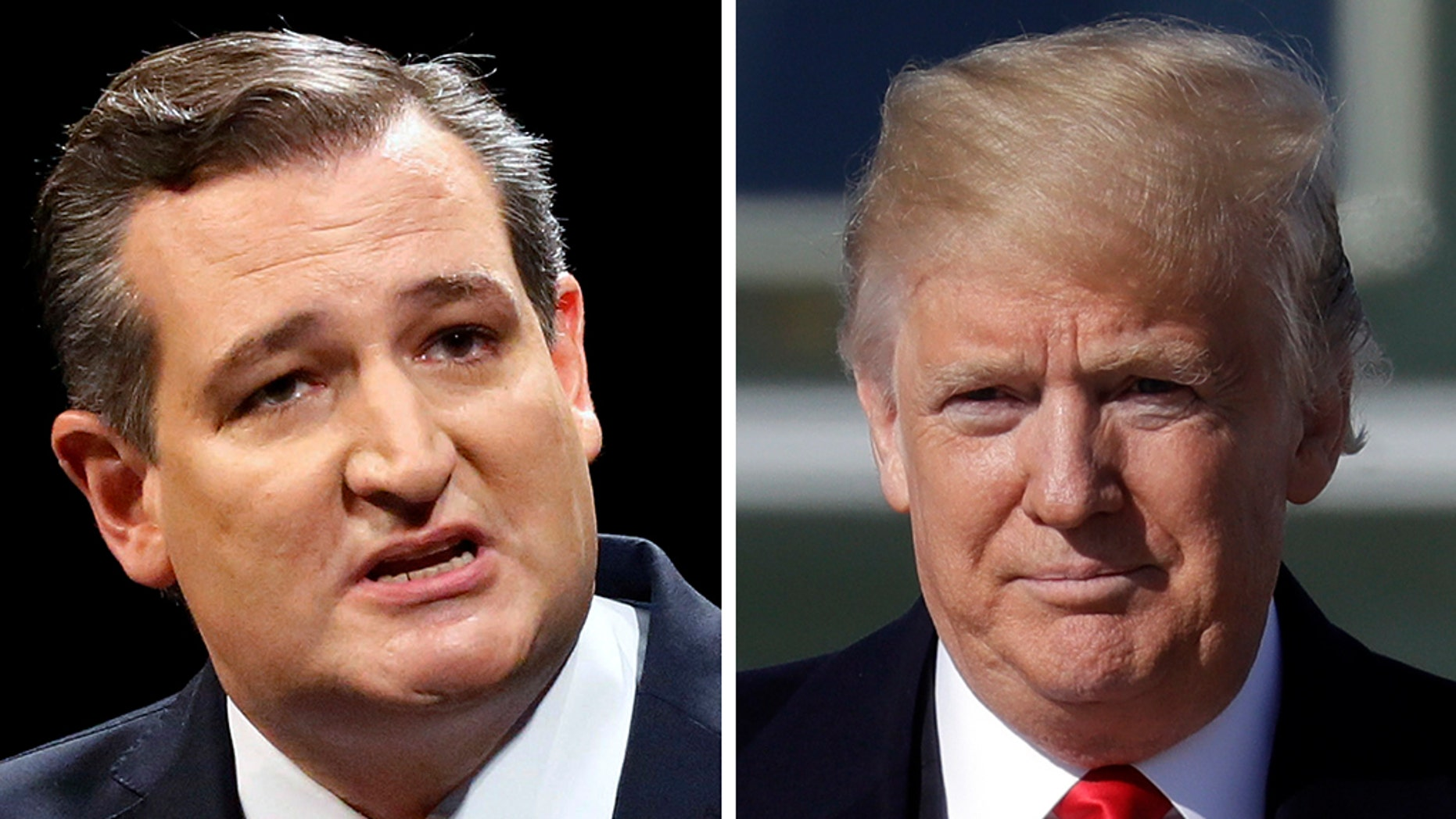 Sen. Ted Cruz says his feud with President Trump is long gone.