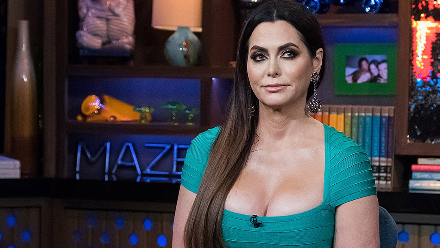 """""""Real Housewives of Dallas"""" star D'Andra Simmons revealed she was a victim of domestic violence 10 years ago.(Getty)"""