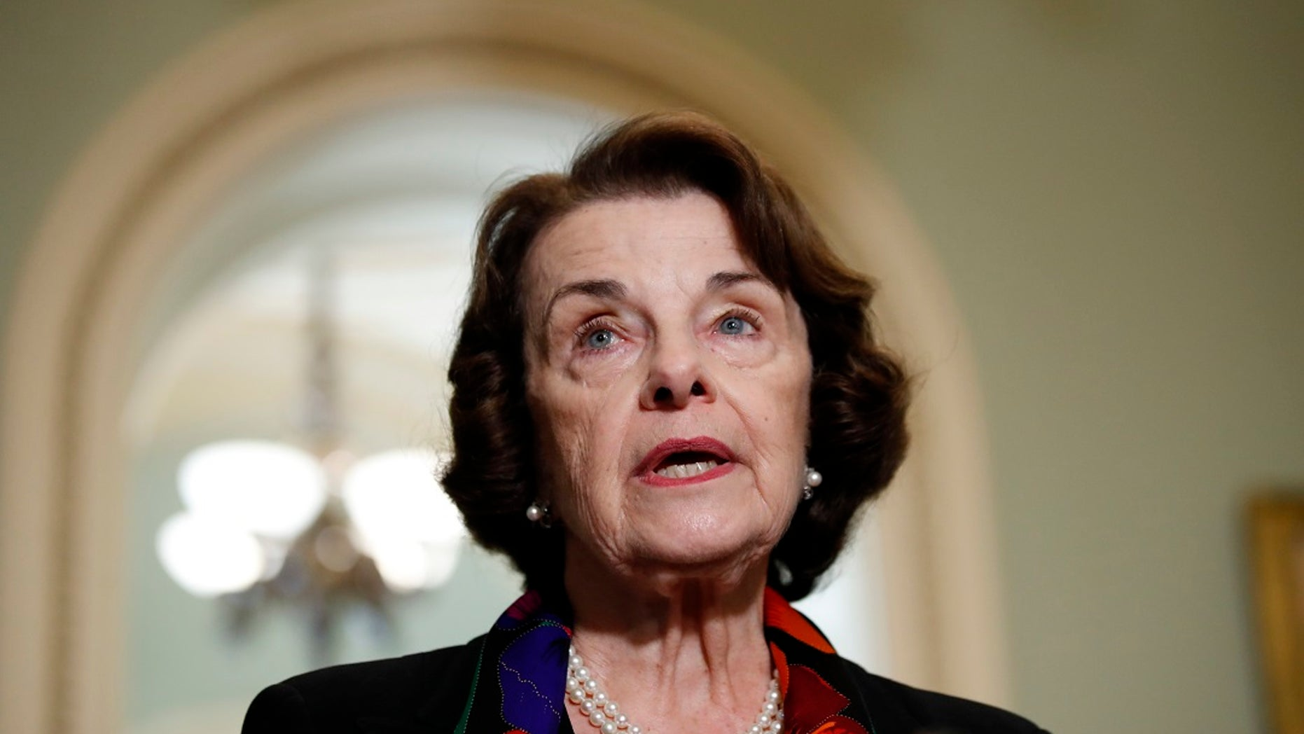 Sen. Dianne Feinstein, D-Calif., (AP Photo/Alex Brandon)