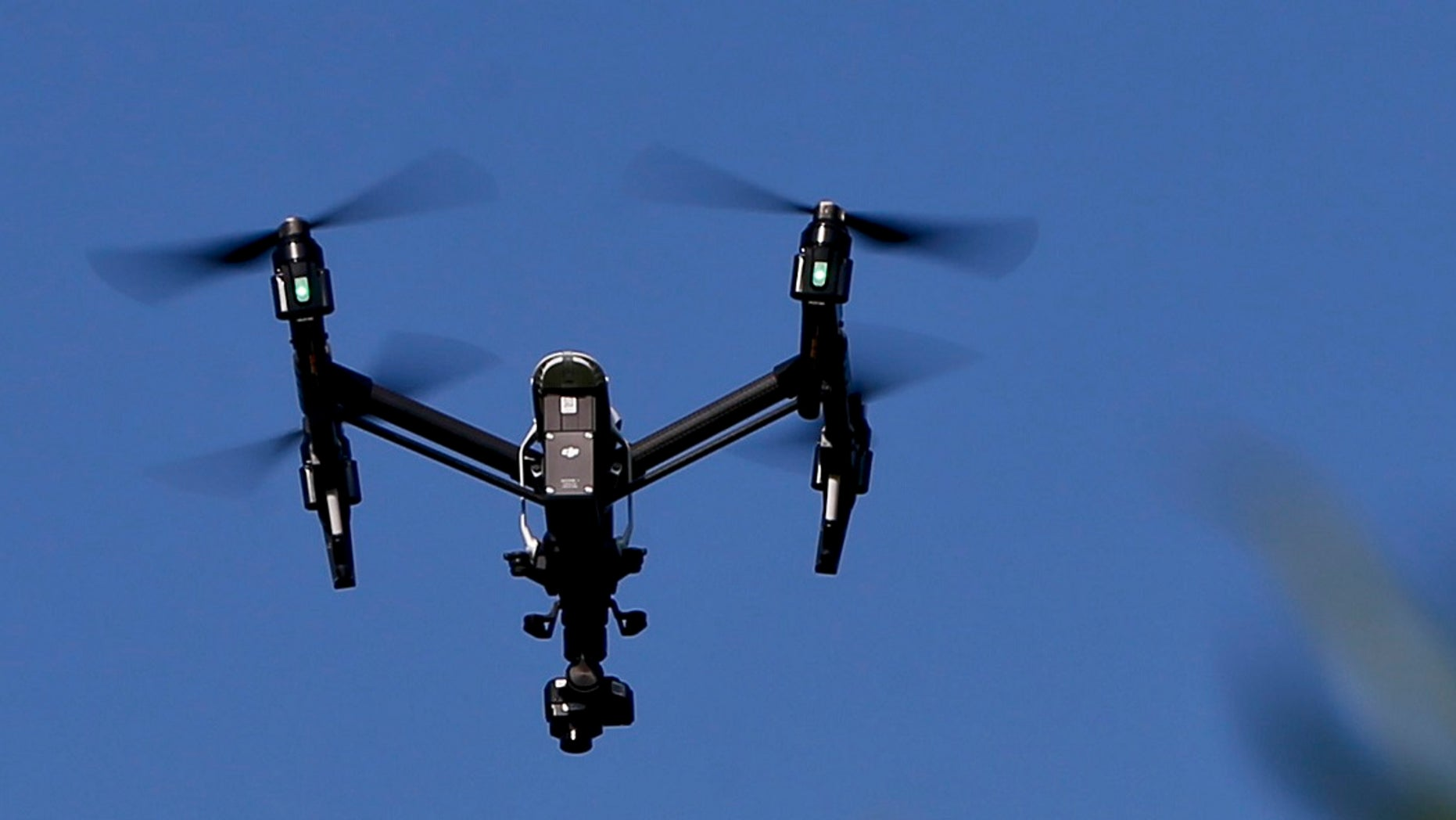 A drone equipped with a thermal camera is seen in this file photo.