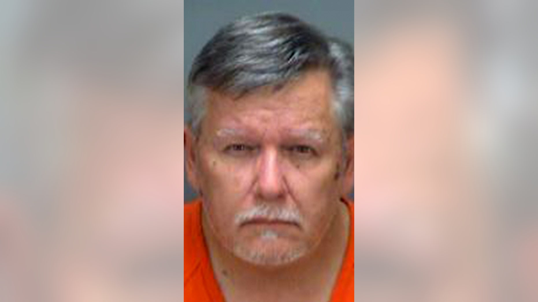 David Healey, 65, was arrested after allegedly beating a 3-foot alligator with a shovel.