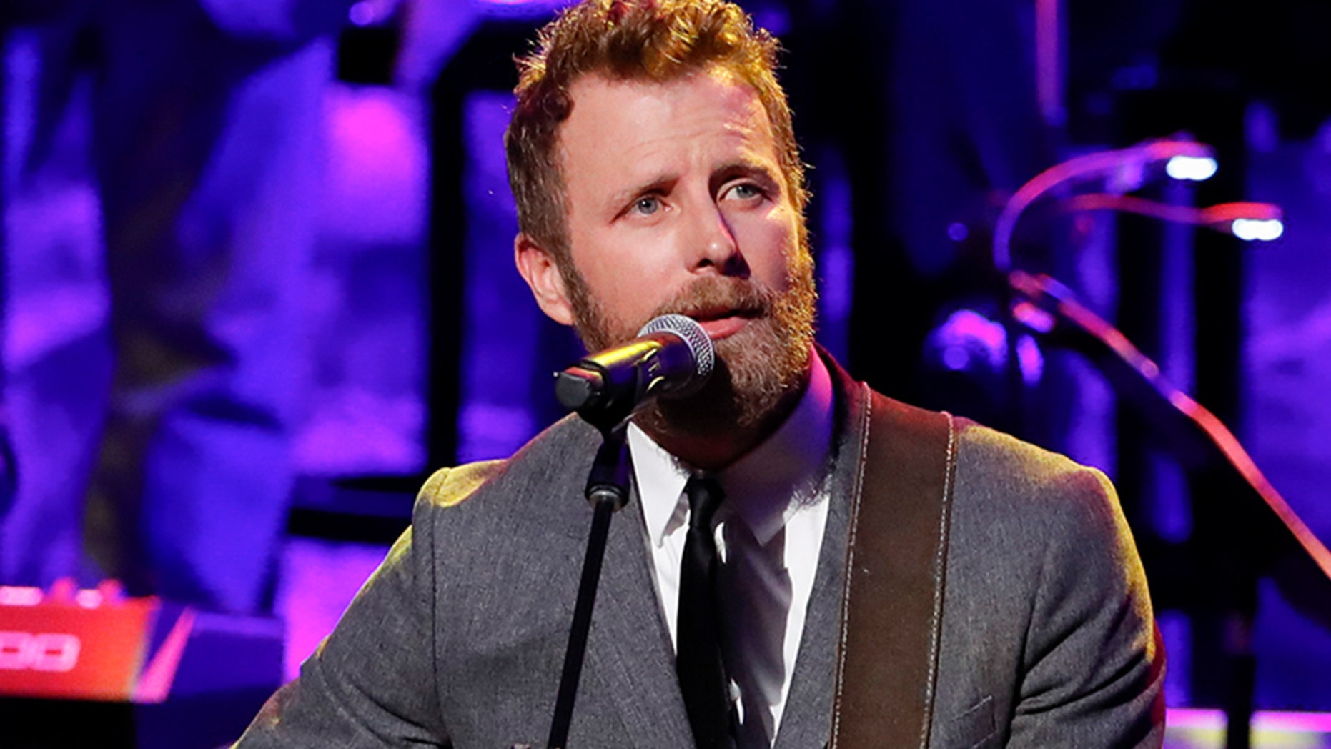 """Dierks Bentley, pictured here performing at the 2018 Medallion Ceremony at the Country Music Hall of Fame and Museum on Oct. 21 in Nashville, Tenn., is set to produce a comedy series with """"Last Man Standing"""" creator, Jack Burditt."""