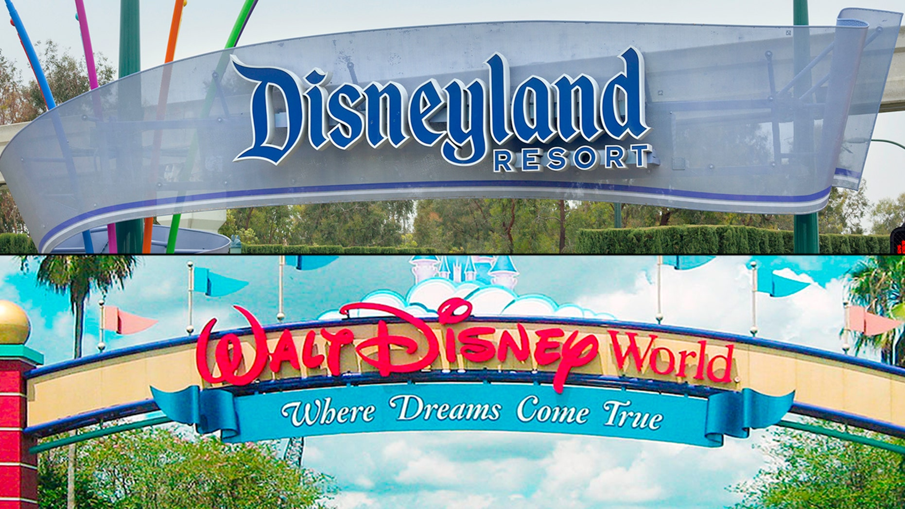 Heather and Clark Ensminger are planning their coast-to-coast Disney trip for Wednesday.