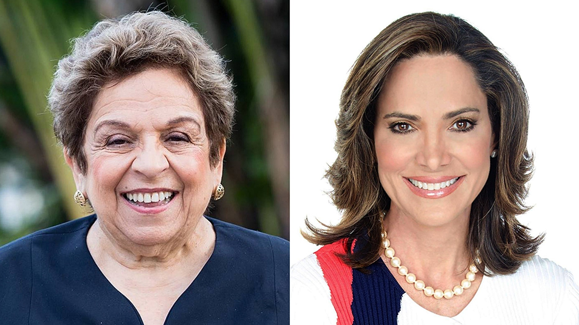 Donna Shalala (left) has bested Maria Elvira Salazar in Florida's 27th district