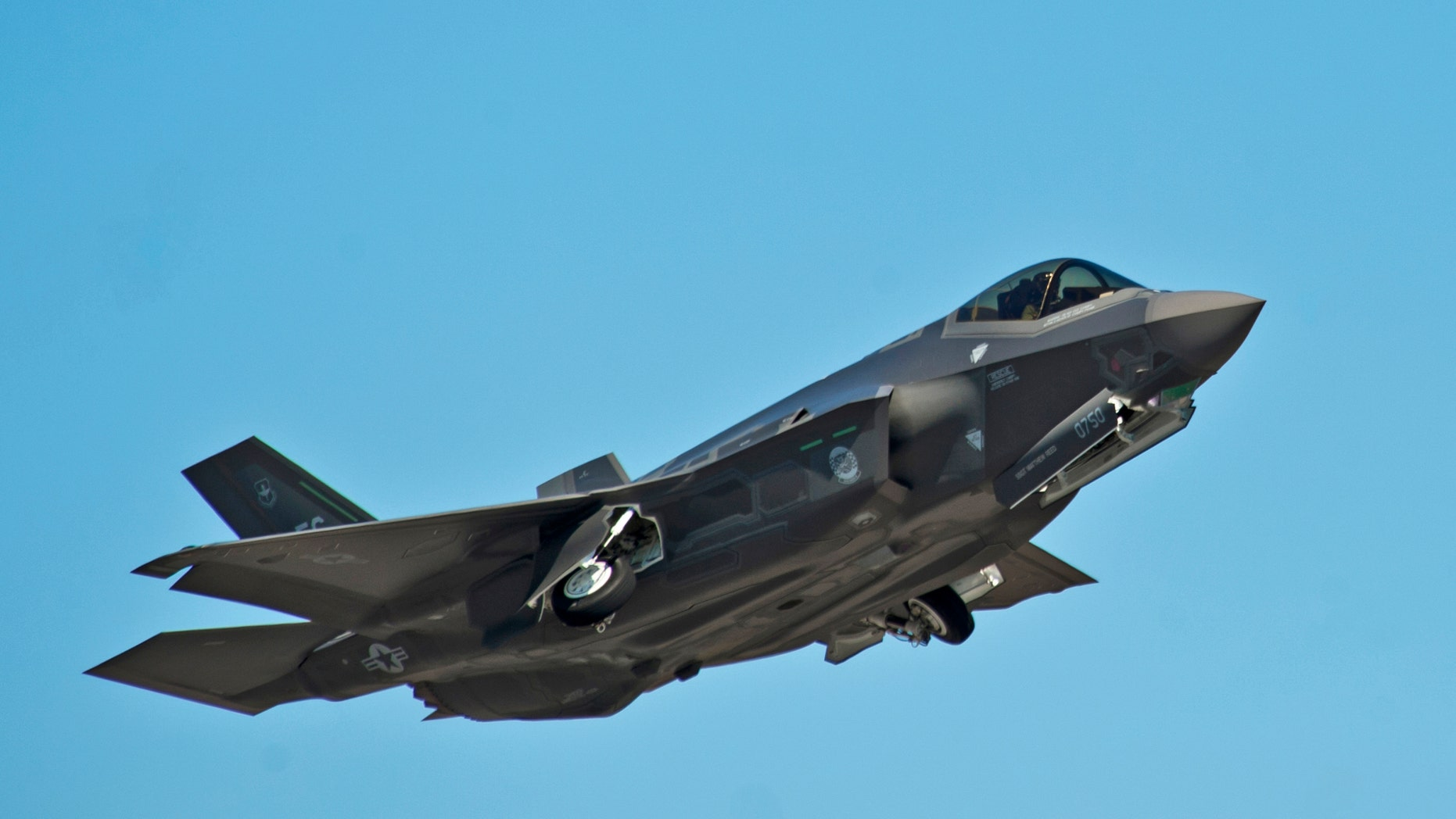 An F-35A Lightning II Joint Strike Fighter takes off on a training sortie at Eglin Air Force Base, Florida in this March 6, 2012 file photo.