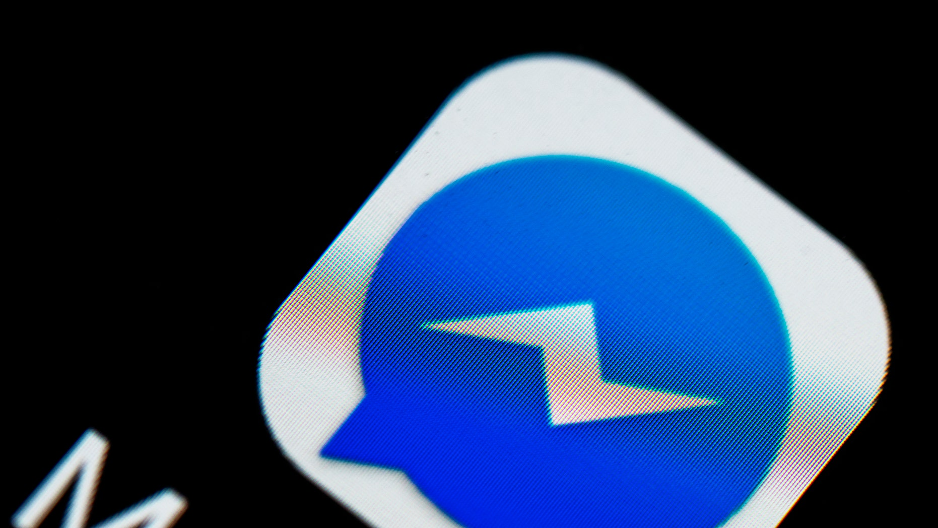 File photo - The Facebook Messenger logo seen displayed on a smartphone (Photo by Igor Golovniov/SOPA Images/LightRocket via Getty Images)