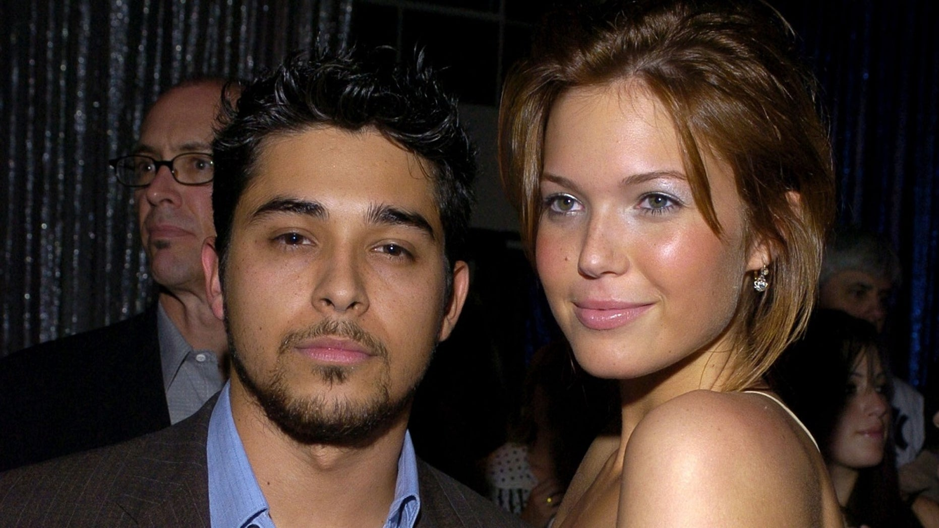 Wilmer Valderrama and Mandy Moore shared a sweet photo from their reunion this past weekend.