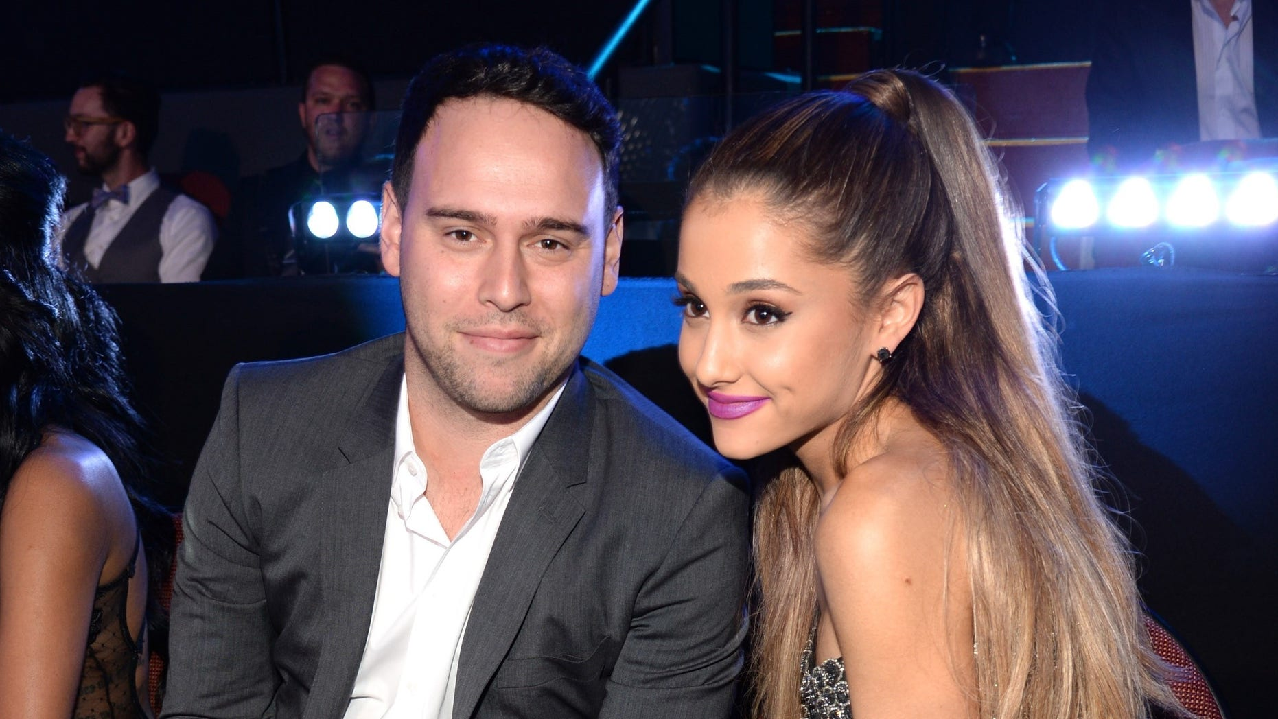 """Scooter Braun said he was fired by Ariana Grande while she was dating """"s---ty boyfriends."""""""