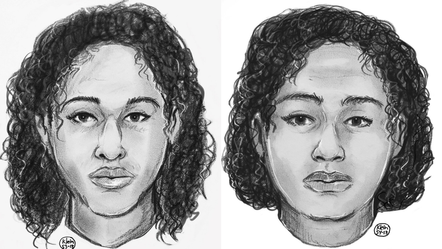 Sketches were released of the two women who were found bound by duct tape near the Hudson River in Manhattan's Upper West Side neighborhood.