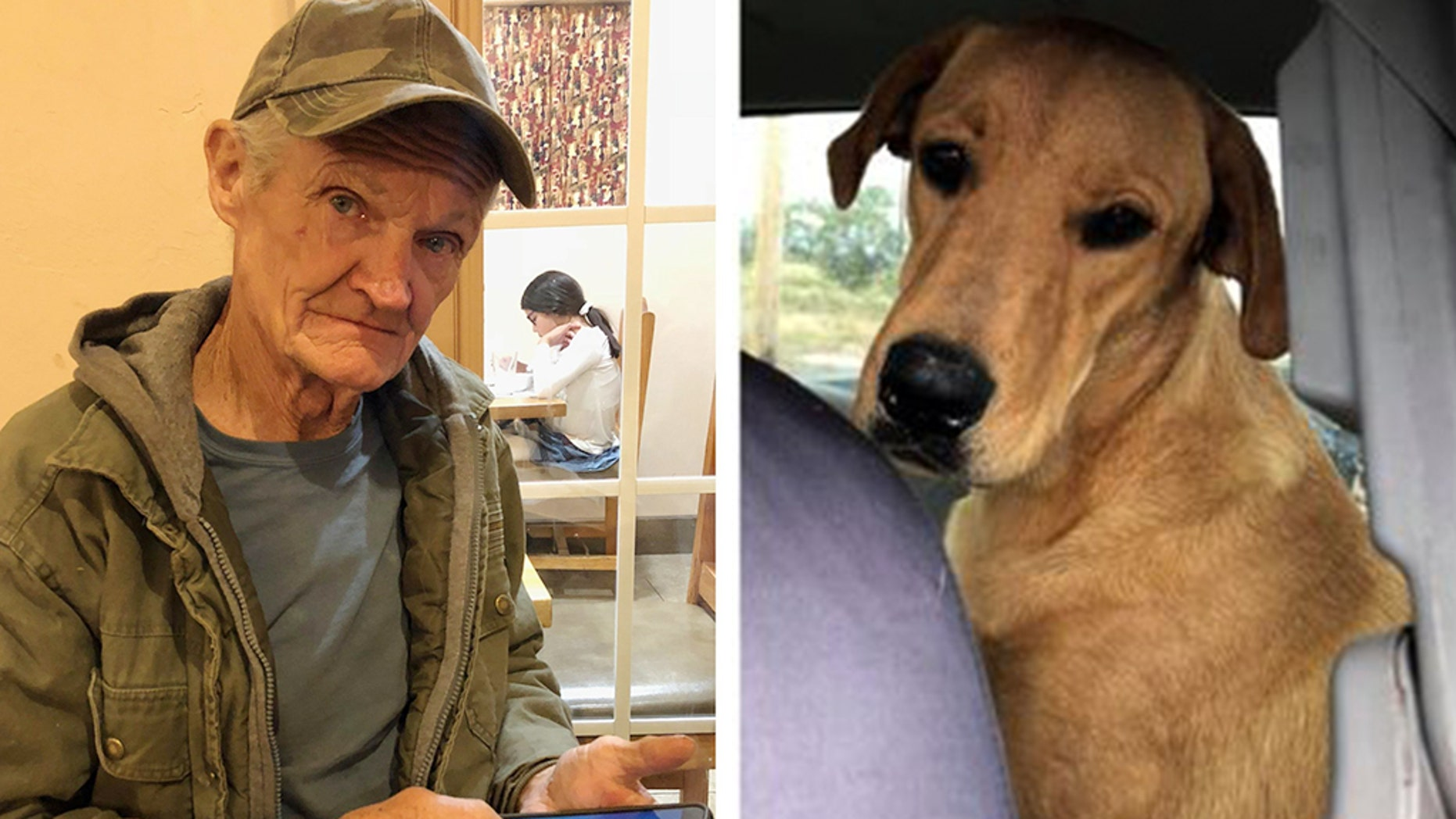 "Sunny ""Tex"" Gilligan, 74, a Doña Ana County resident, told the Las Cruces Sun-News that Charlie and his two other dogs — Scooter and Cowboy — went with him to hunt for jackrabbits in the desert west of Las Cruces on Thursday, Oct. 25. Gilligan was in the driver's seat of his parked pickup truck, along with the dogs, when he was shot."