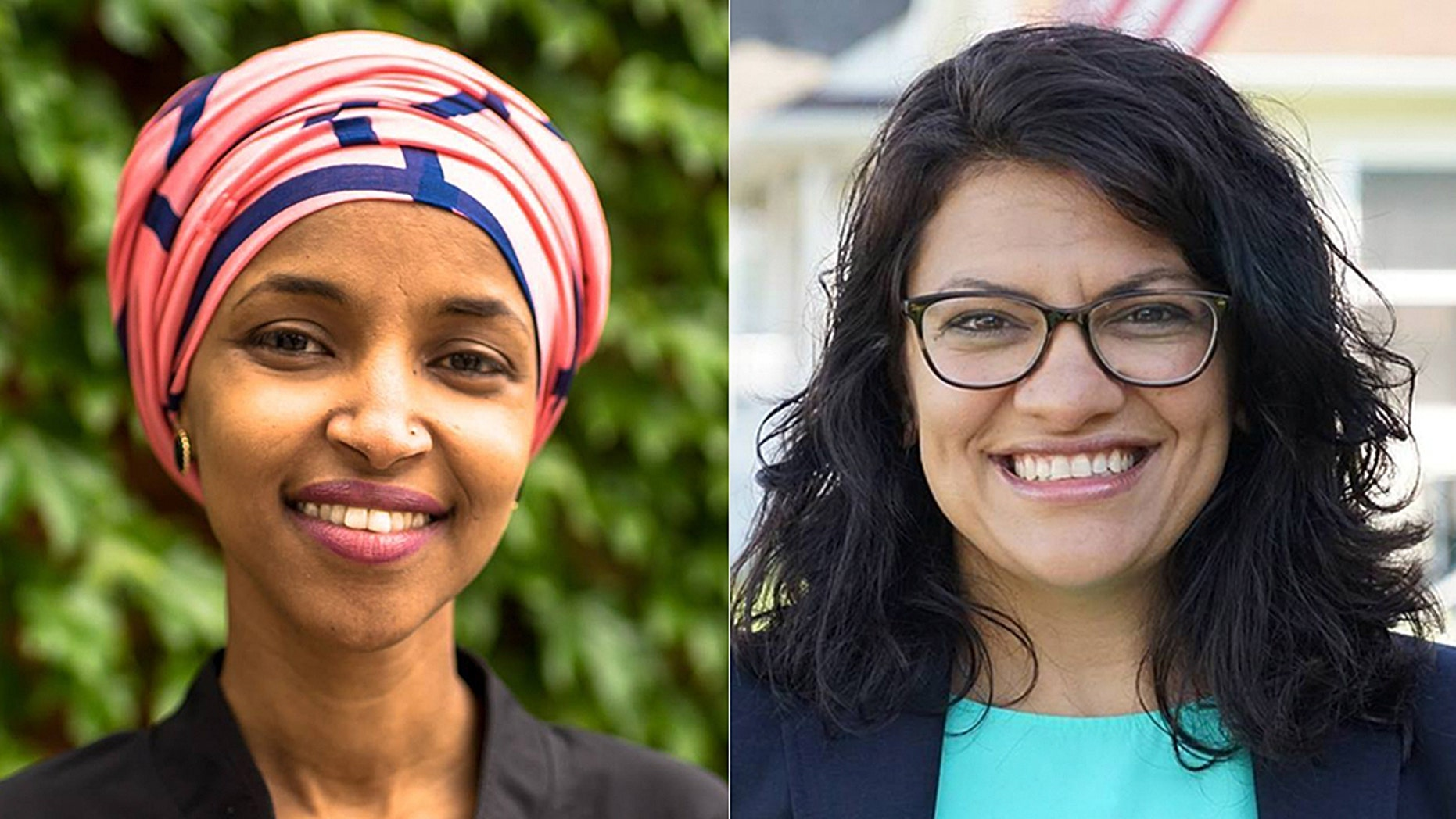 A record number of women are running for public office this year, and several are poised to make history. Ilhan Omar of Minnesota (left) and Rashida Tlaib of Michigan (right) are slated to become the first two Muslim women to serve in Congress.