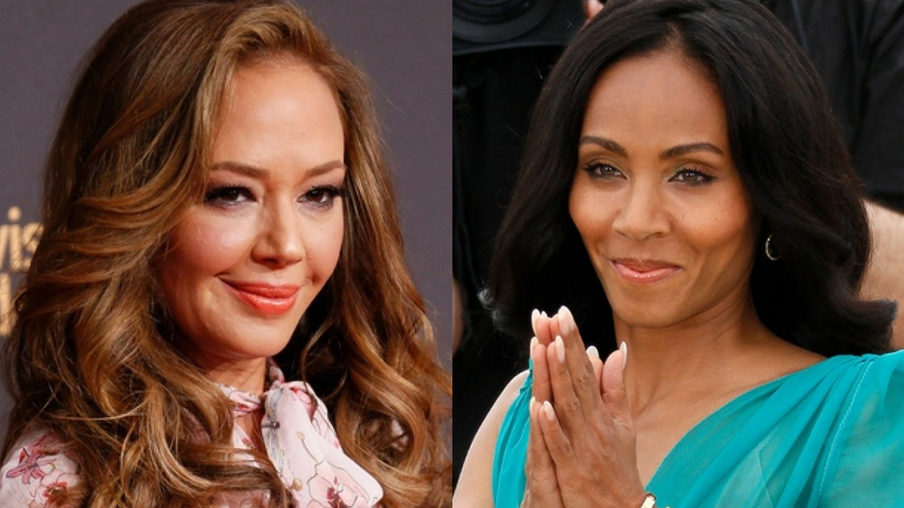 Leah Remini and Jada Pinkett Smith have made amends after a very public feud last year.