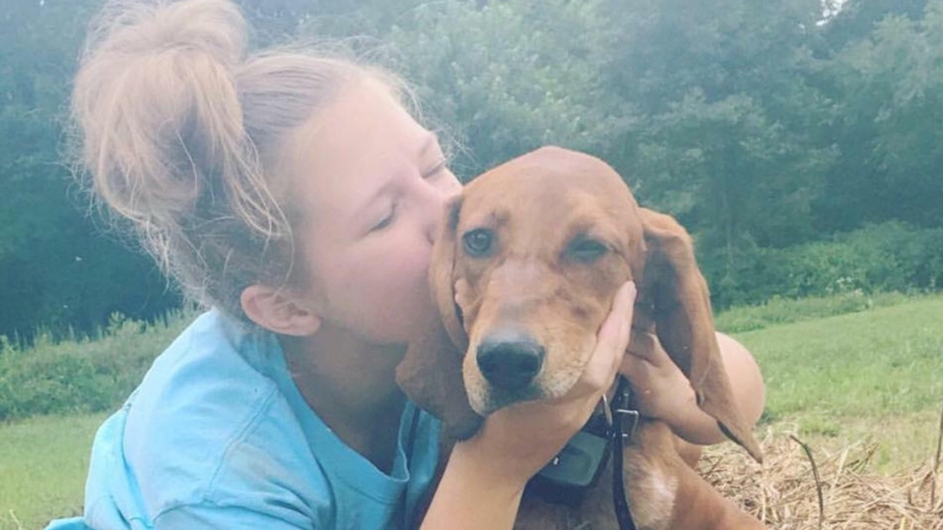 Jennarae Goodbar was killed when she was struck by a car while chasing after her dog Cash, who also died, reports said.