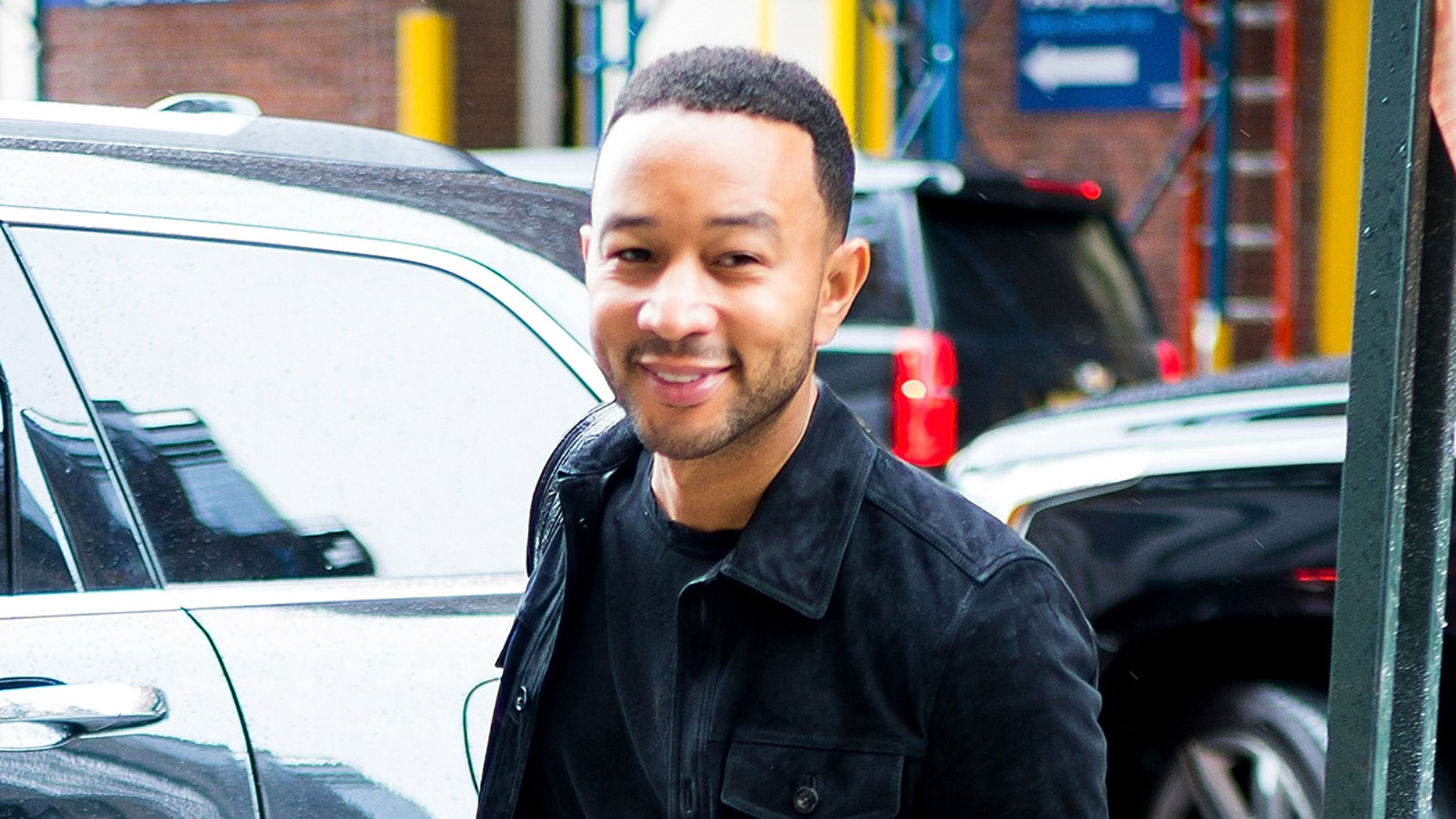 Singer-songwriter John Legend reportedly donated some money to a New Jersey fire department.