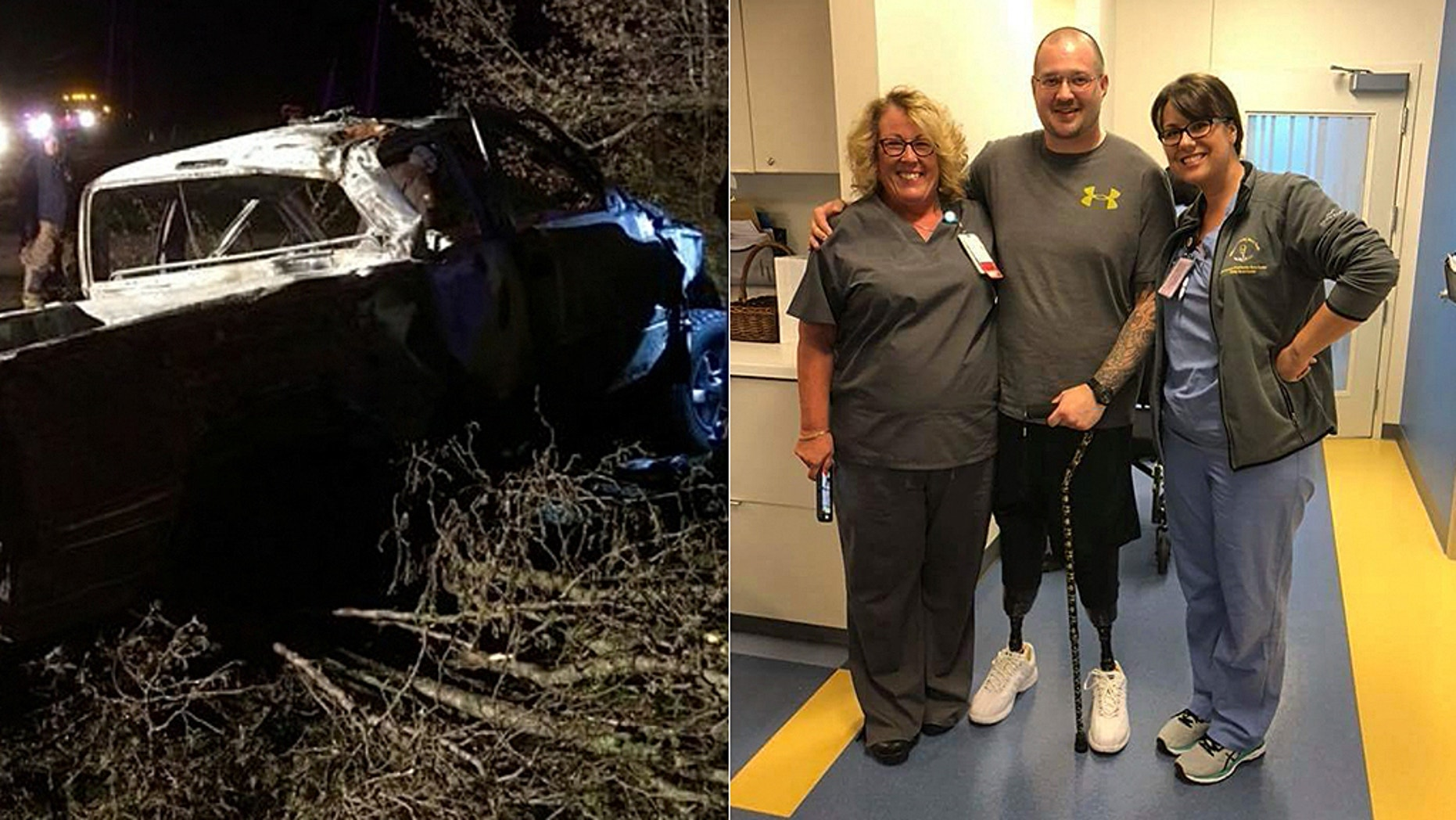 Joseph Green is now working to warn others about the dangers of drunk driving as he continues to cope and recover from his injuries.