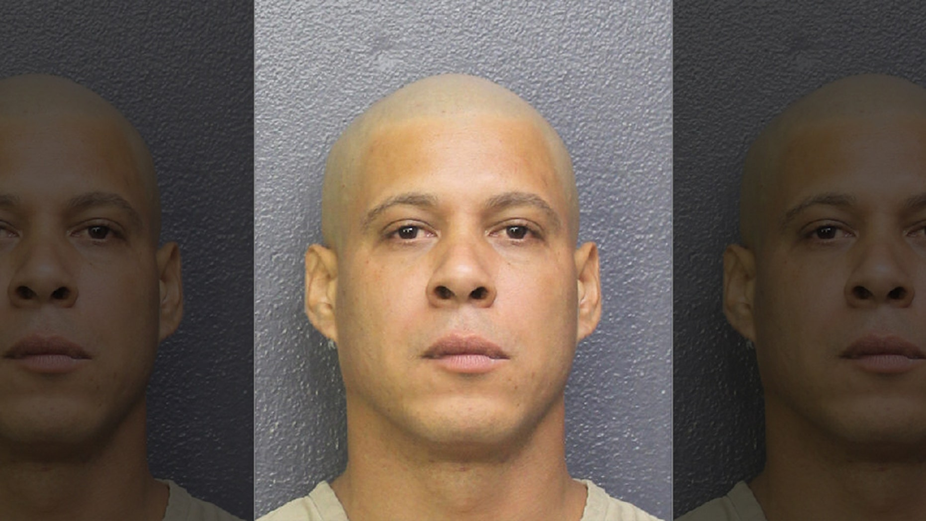 Juan Manuel Gonzalez hurt his pregnant ex-wife and drowned her disabled dog, Pembroke Pines police said.