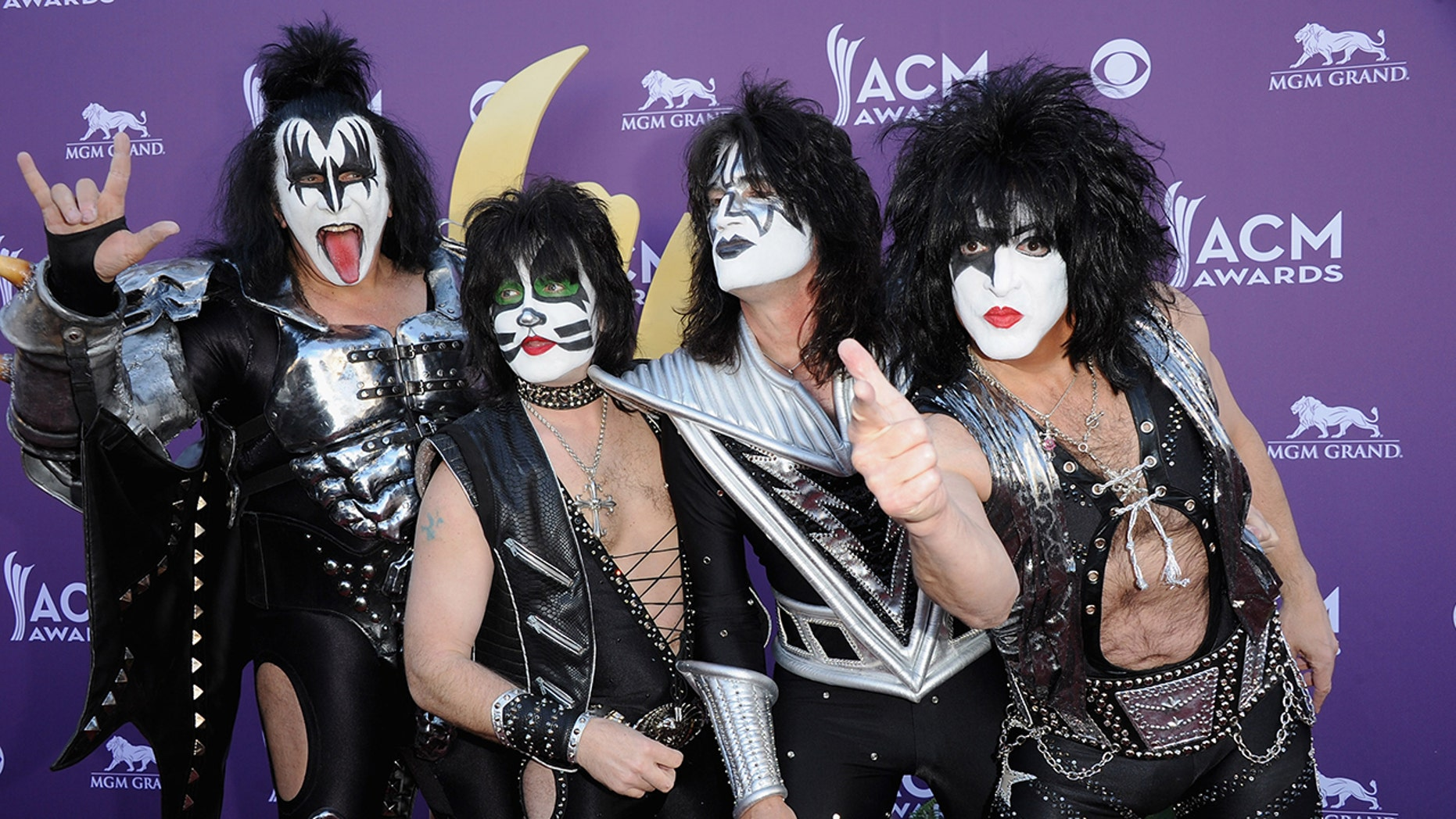 """Rock band KISS will start its """"End of the Road"""" tour in 2019."""