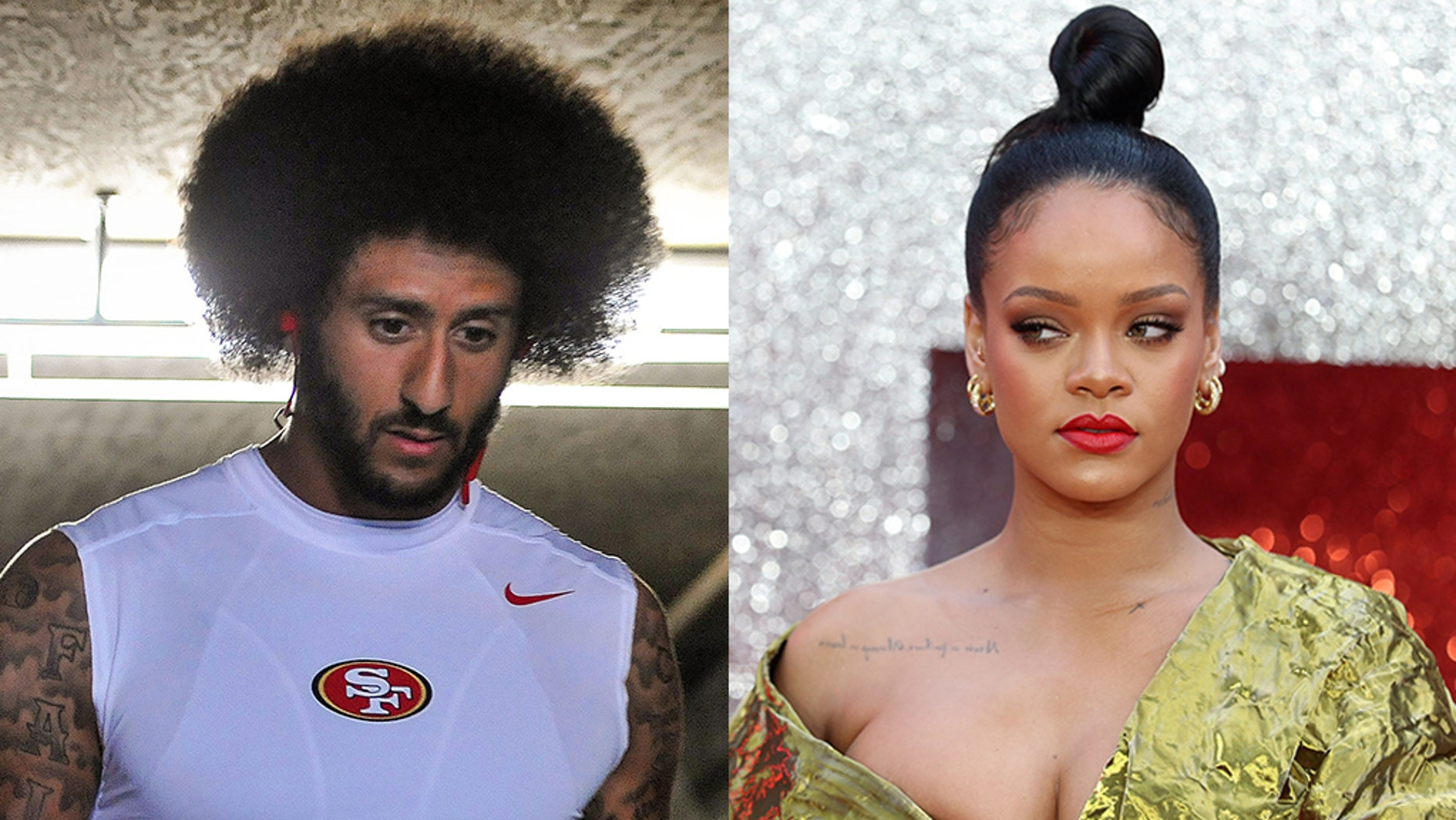 Rihanna, in support of Colin Kaepernick, declines Super Bowl performance