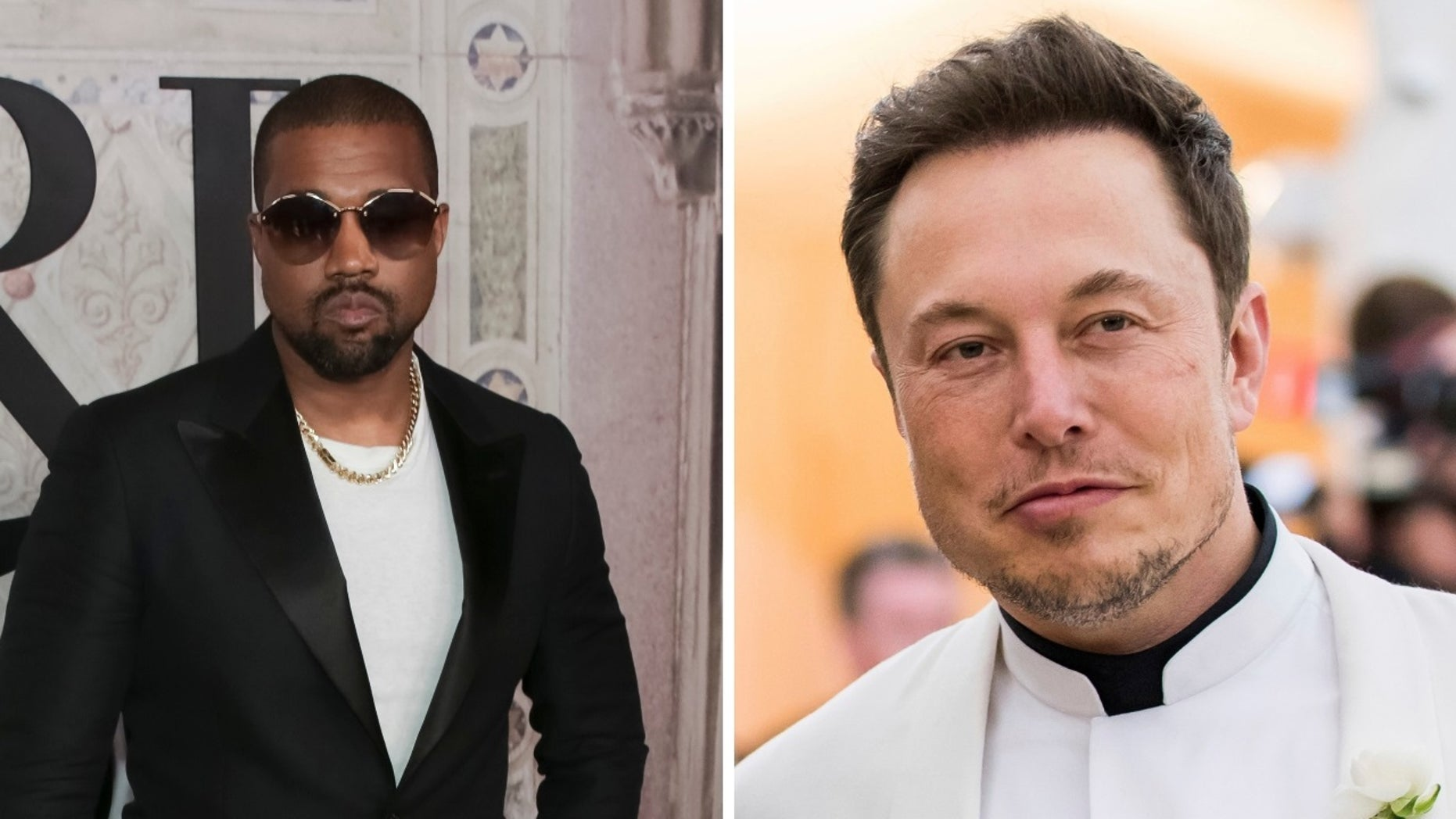 Kanye West defended Elon Musk in a dramatic speech.