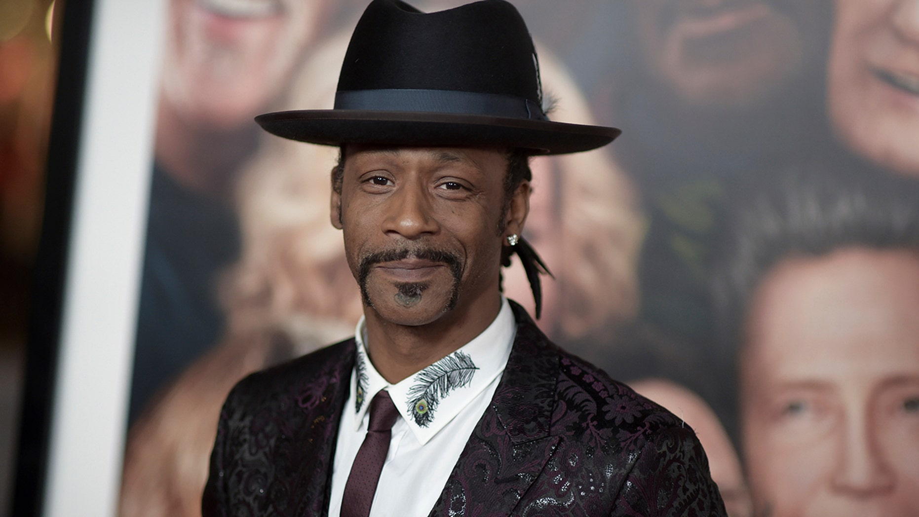 """FILE - In this Dec. 13, 2017, file photo, Katt Williams attends the LA Premiere of """"Father Figures"""" in Los Angeles. Williams was arrested on suspicion of assaulting a driver. Williams is in jail Sunday, Oct, 7, 2018. He had come to Portland to perform in Nick Cannon's """"Wild 'N Out"""" comedy improv show Friday night."""