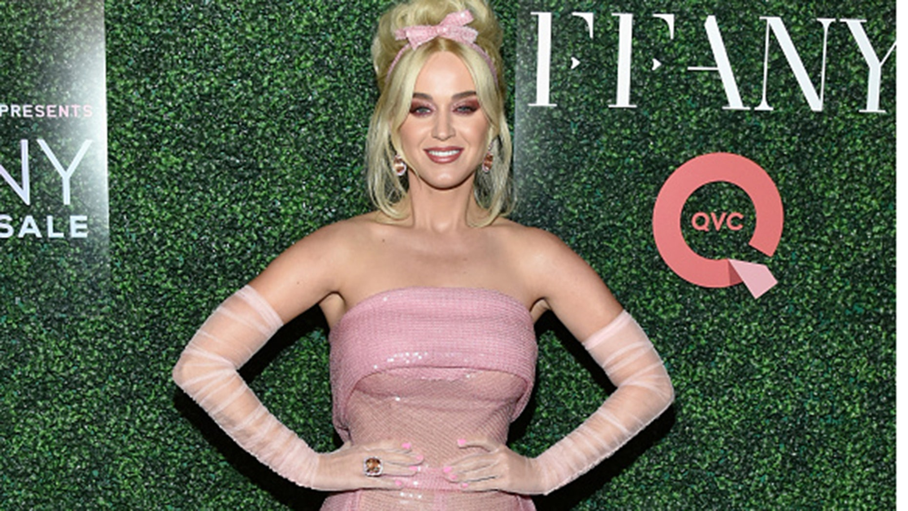 "NEW YORK, NY - OCTOBER 11: Katy Perry attends the 25th Annual QVC ""FFANY Shoes on Sale"" Gala at The Ziegfeld Ballroom on October 11, 2018 in New York City. (Photo by Eugene Gologursky/Getty Images for QVC)"