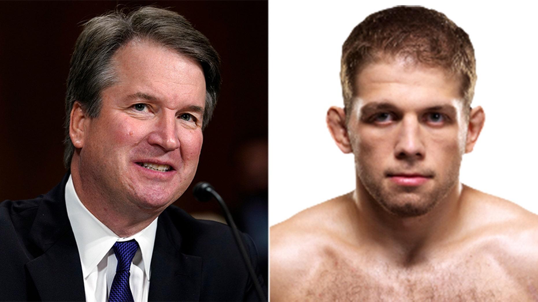 Nik Lentz gave a shout out to Supreme Court Justice Brett Kavanaugh after winning his UFC 229 match.
