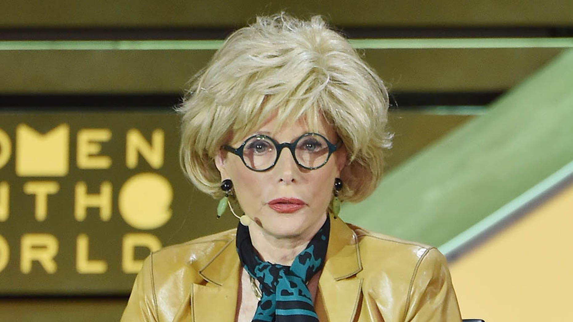 Lesley Stahl, pictured here in 2015, spoke at the Fortune's Most Powerful Women Summit on Wednesday.