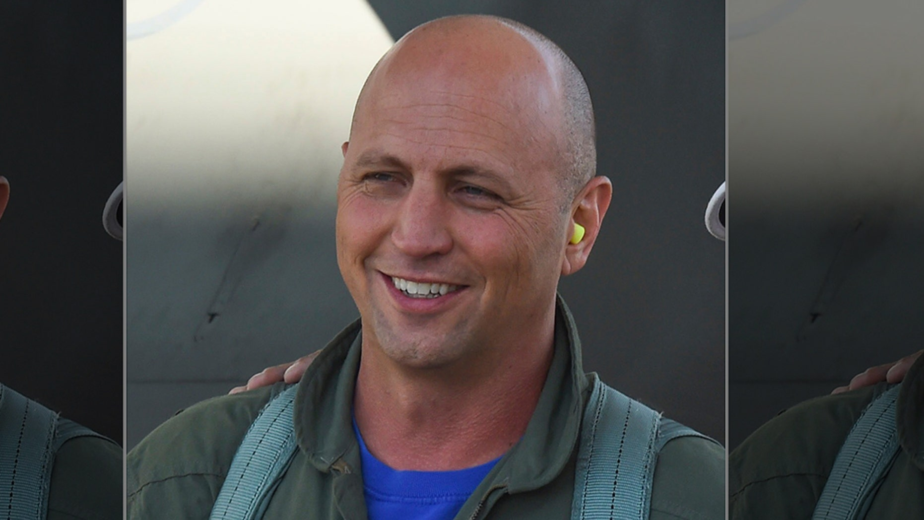"""Lt. Col. Seth """"Jethro"""" Nehring, a fighter pilot with the California Air National Guard's 194th Fighter Squadron, part of the 144th Fighter Wing based in Fresno, Calif. was killed in a crash during a routine familiarization training."""