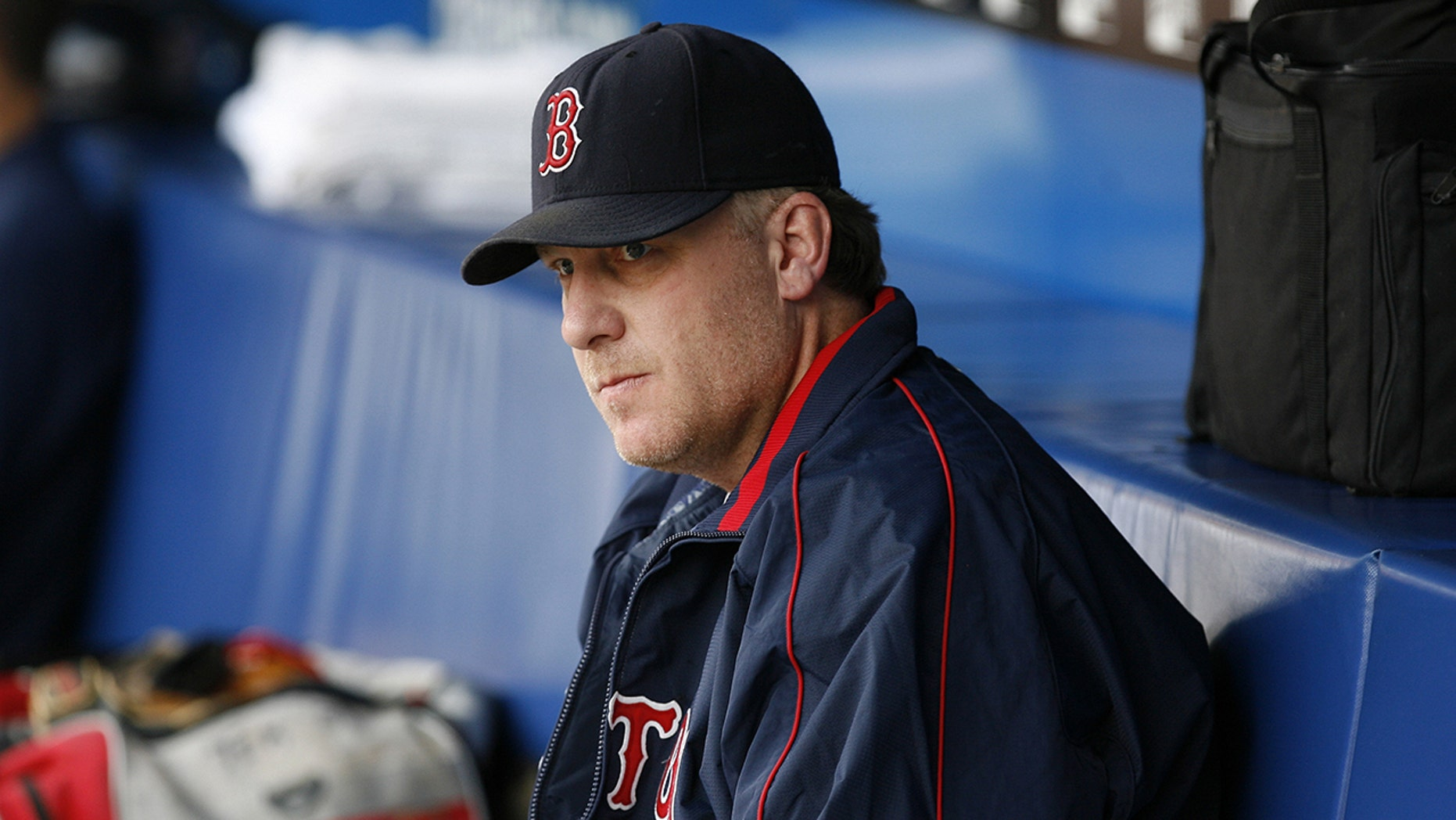 Curt Schilling absent from Red Sox first-pitch ceremony
