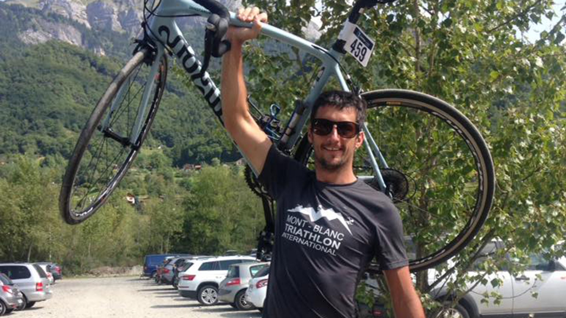 Marc Sutton was shot and killed by a hunter in the French Alps, local media reported.