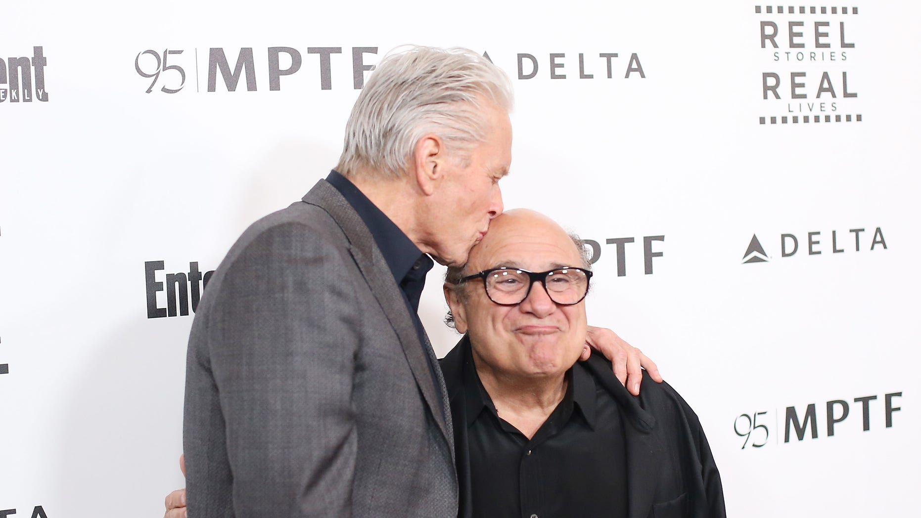 Michael Douglas, left, revealed that he and Danny DeVito, right, bonded over their love for cannabis.