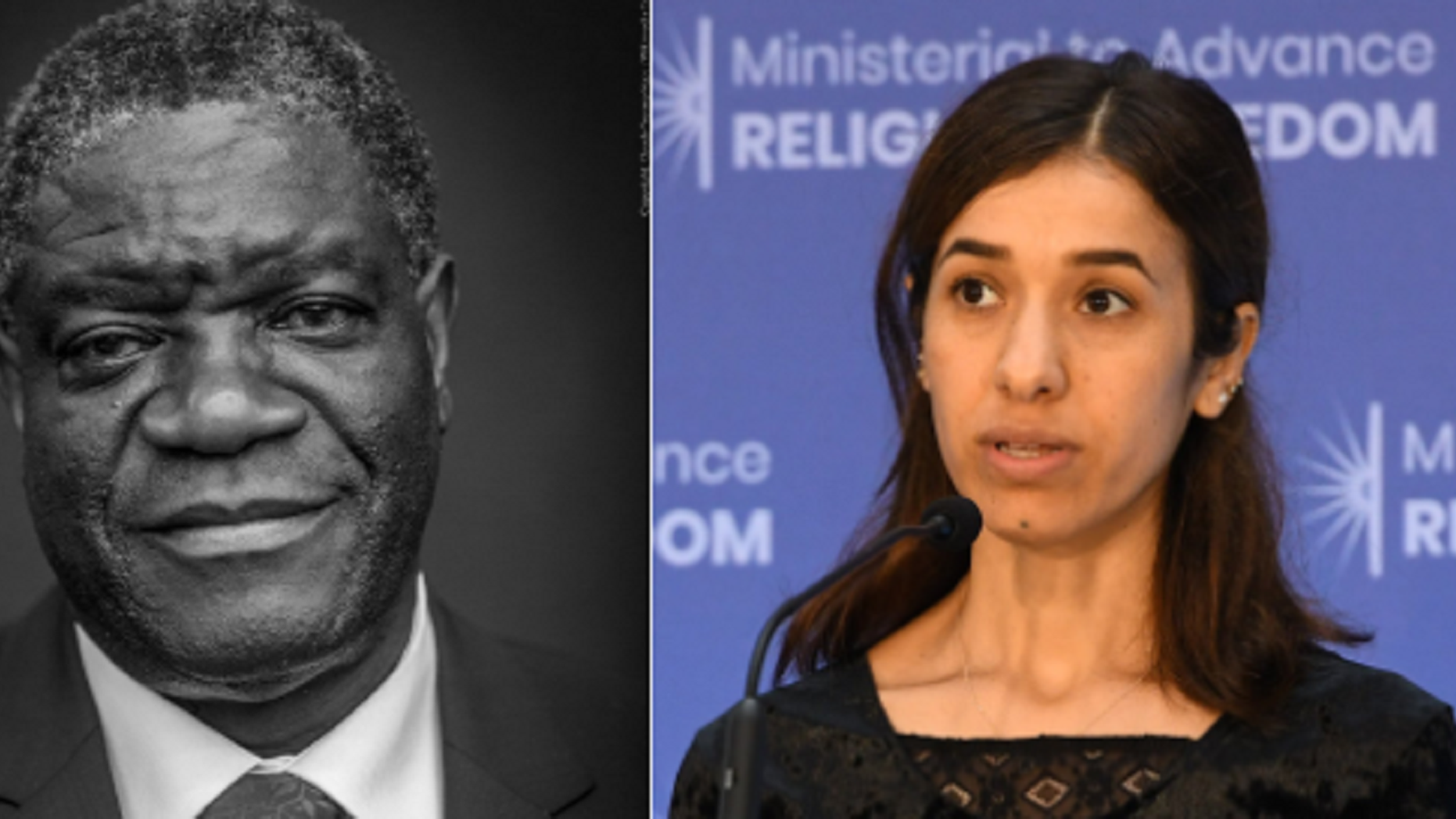 Doctor, ex-slave win peace prize