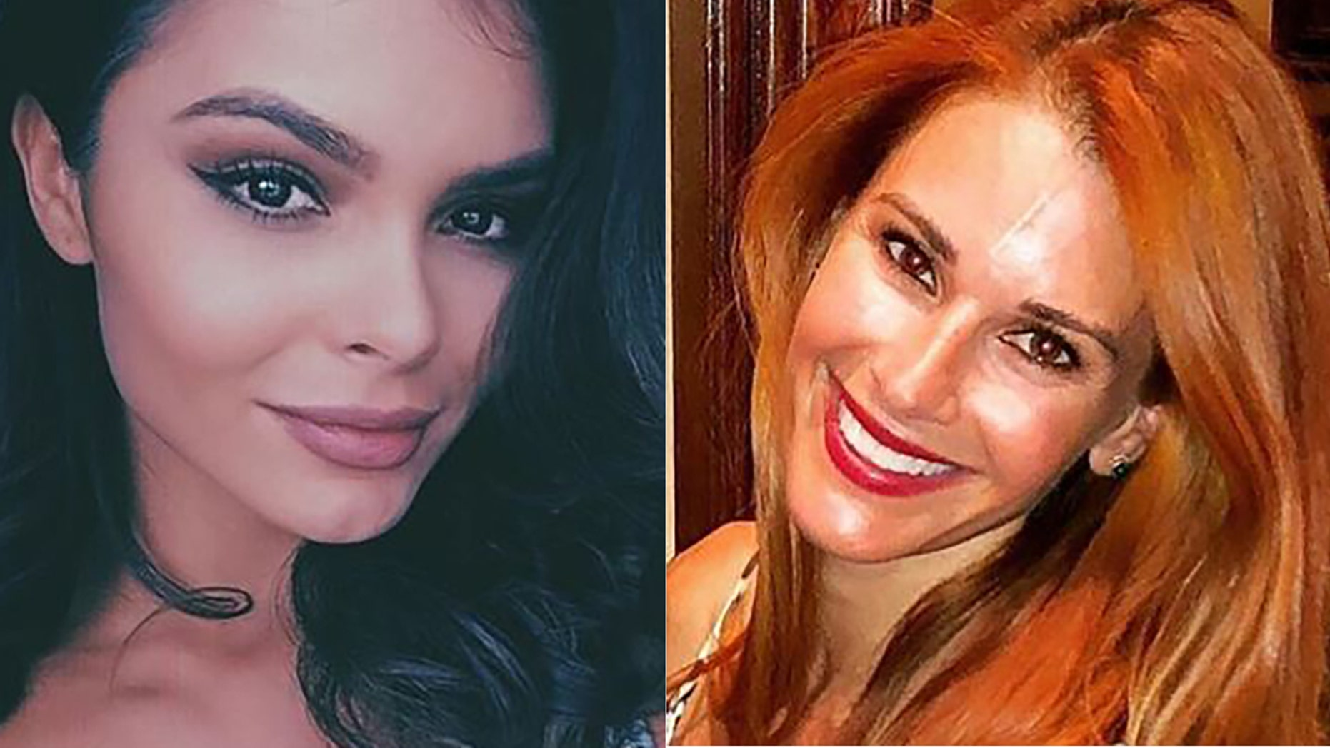 Alana Campos, left, and Jaime Edmondson-Longoria are among the models named in the lawsuit.