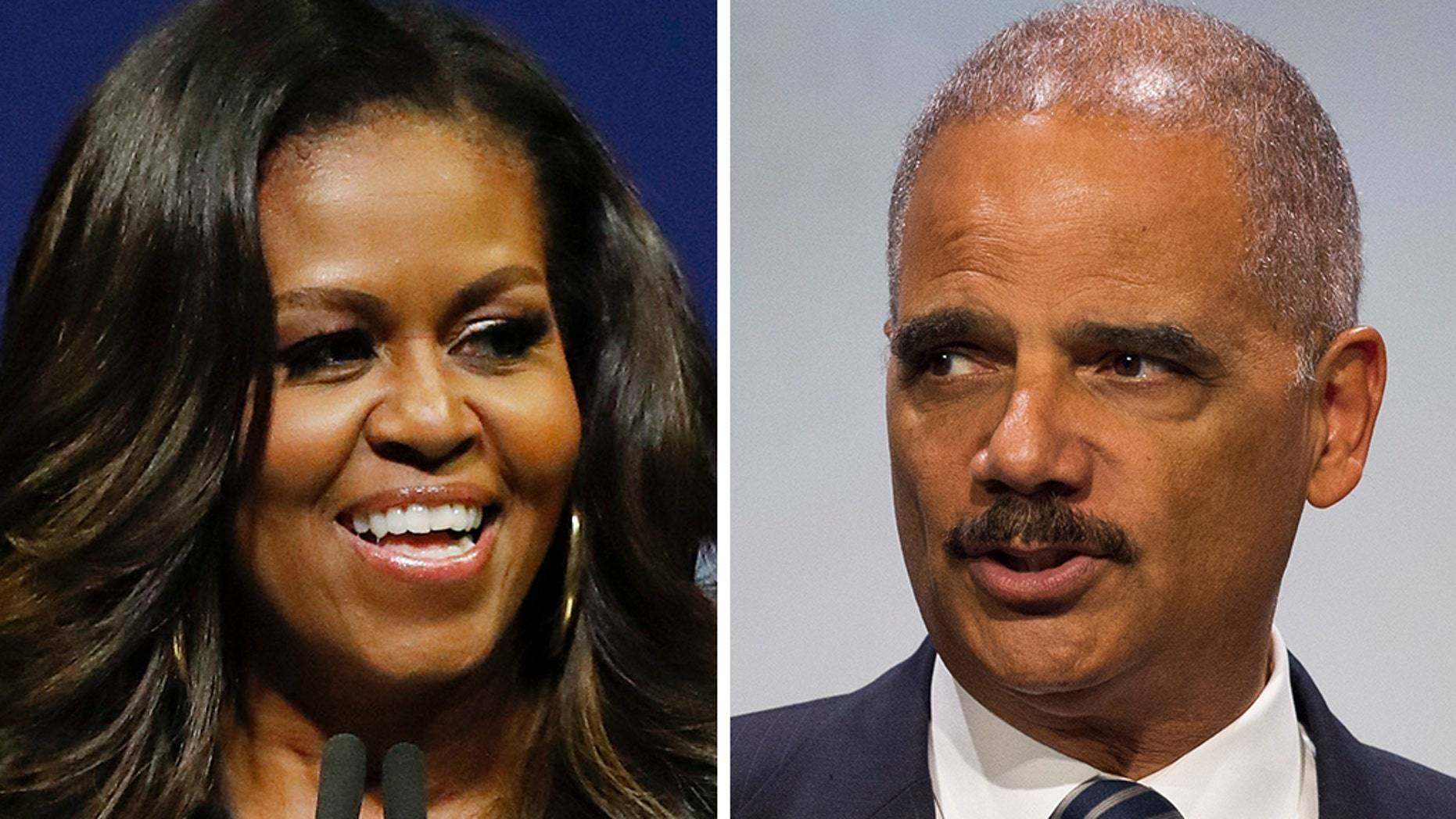 Michelle Obama pushed back on Eric Holder's call to ditch civility in politics.