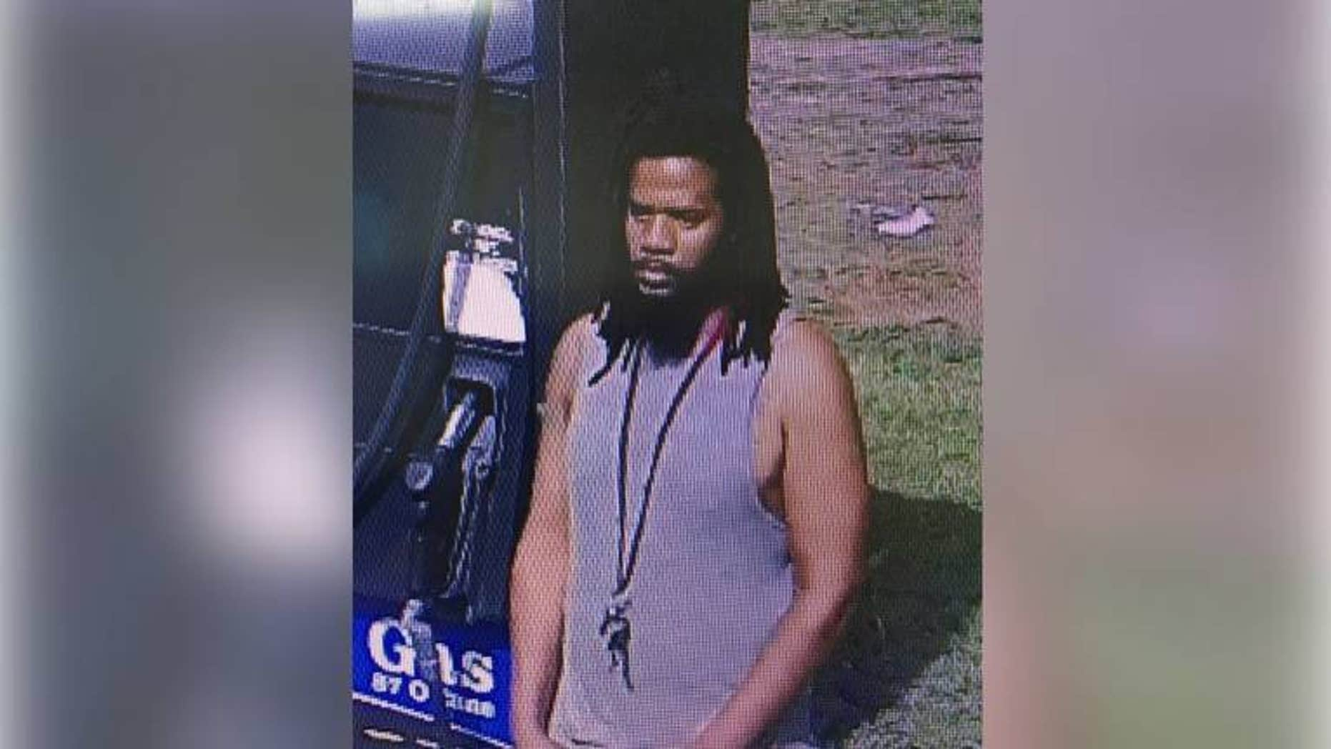 "South Carolina cops are looking for a man they said exposed himself to a gas station clerk on Friday while saying, ""have a blessed day."""