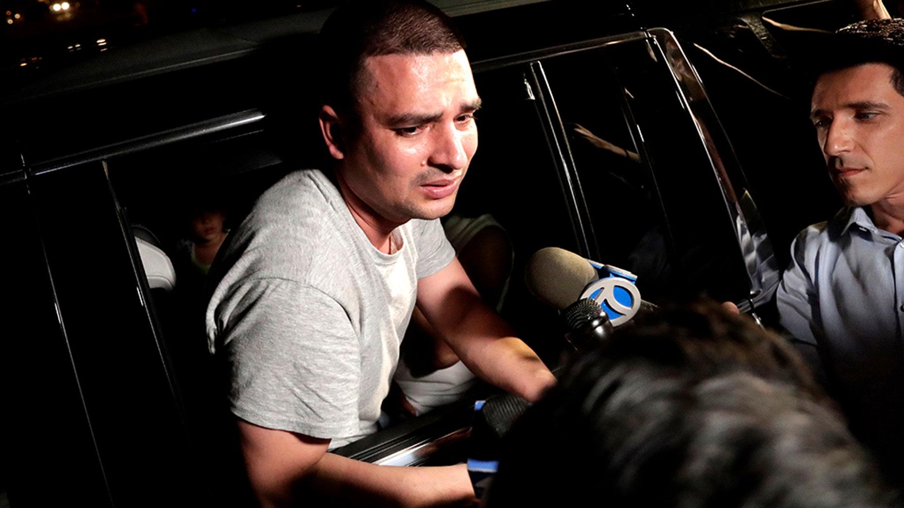"Pablo Villavicencio, an Ecuadorean native, was arrested for alleged domestic violence in Long Island, New York.<br data-cke-eol=""1"">"